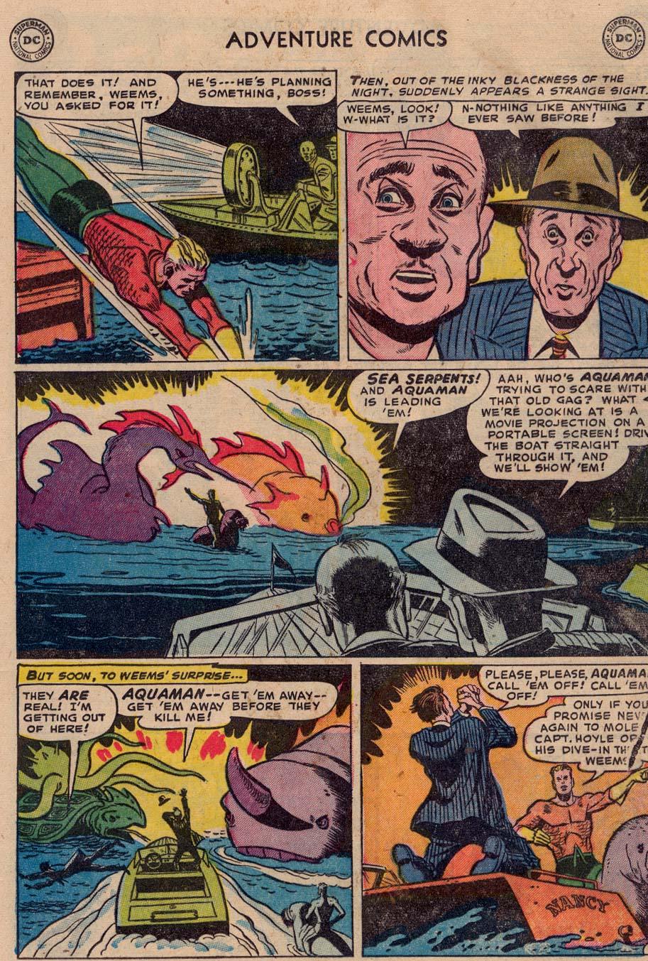 Read online Adventure Comics (1938) comic -  Issue #186 - 21