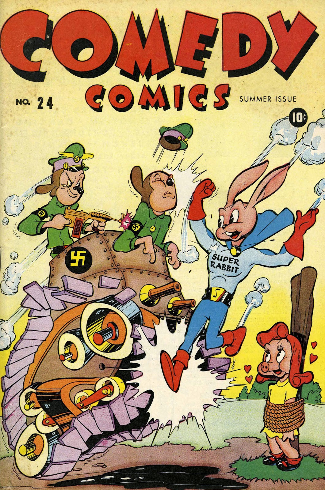 Read online Comedy Comics (1942) comic -  Issue #24 - 1