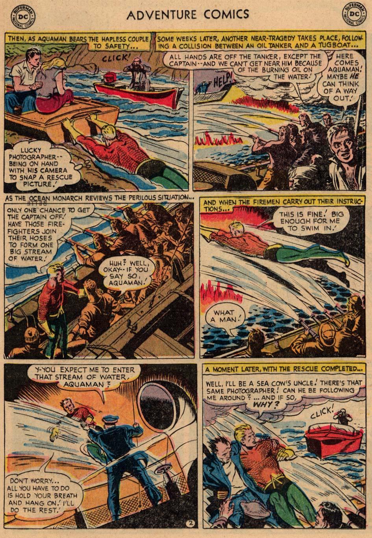 Read online Adventure Comics (1938) comic -  Issue #208 - 16