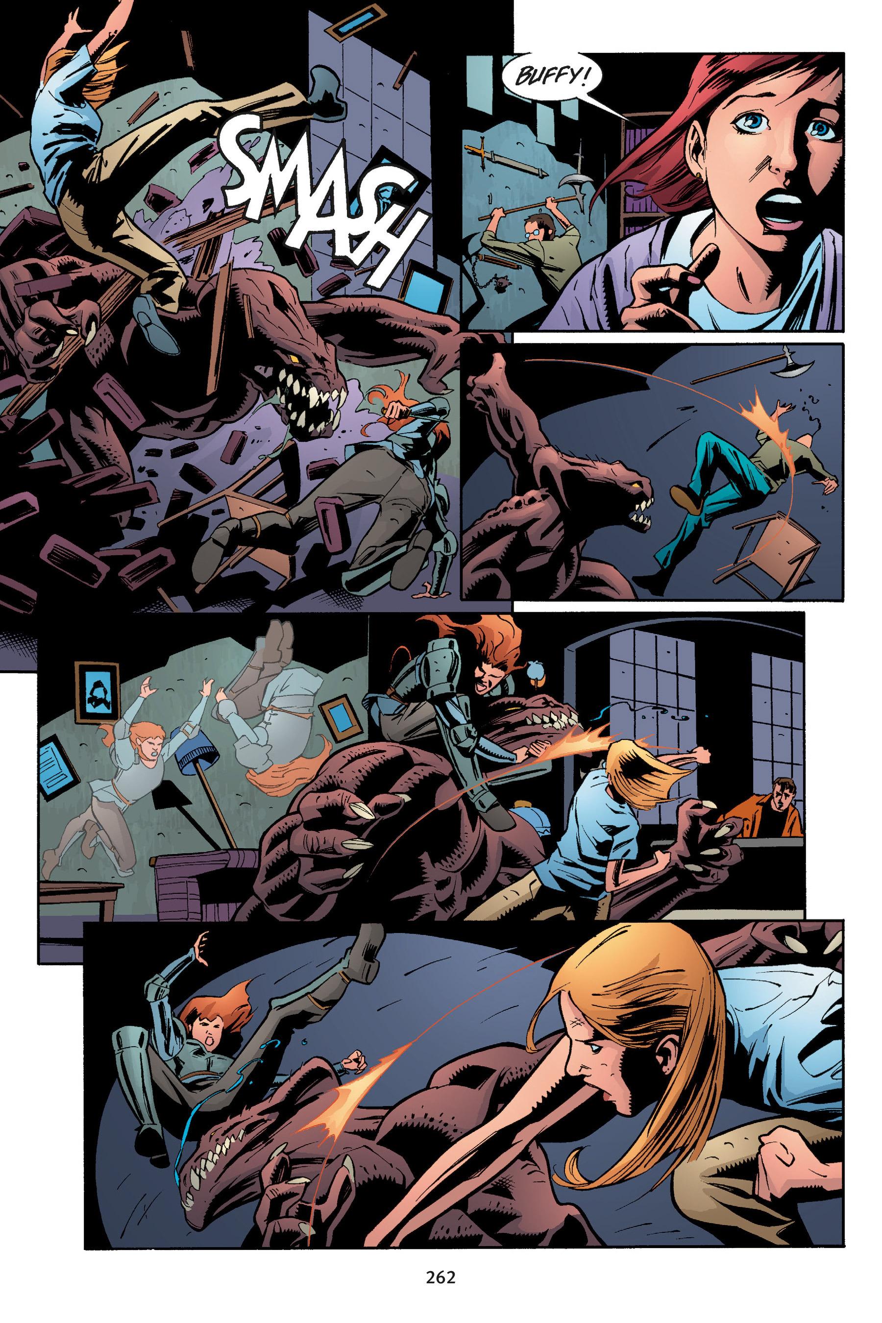 Read online Buffy the Vampire Slayer: Omnibus comic -  Issue # TPB 5 - 261