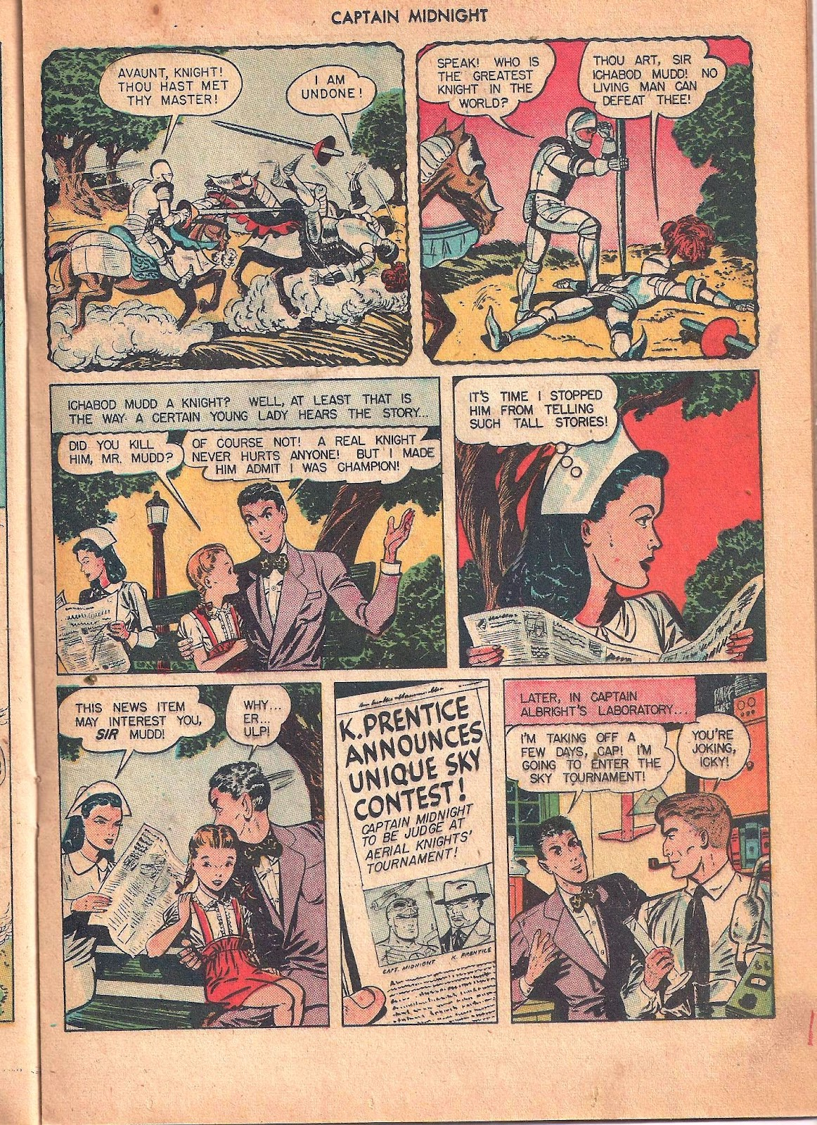 Captain Midnight (1942) issue 53 - Page 25