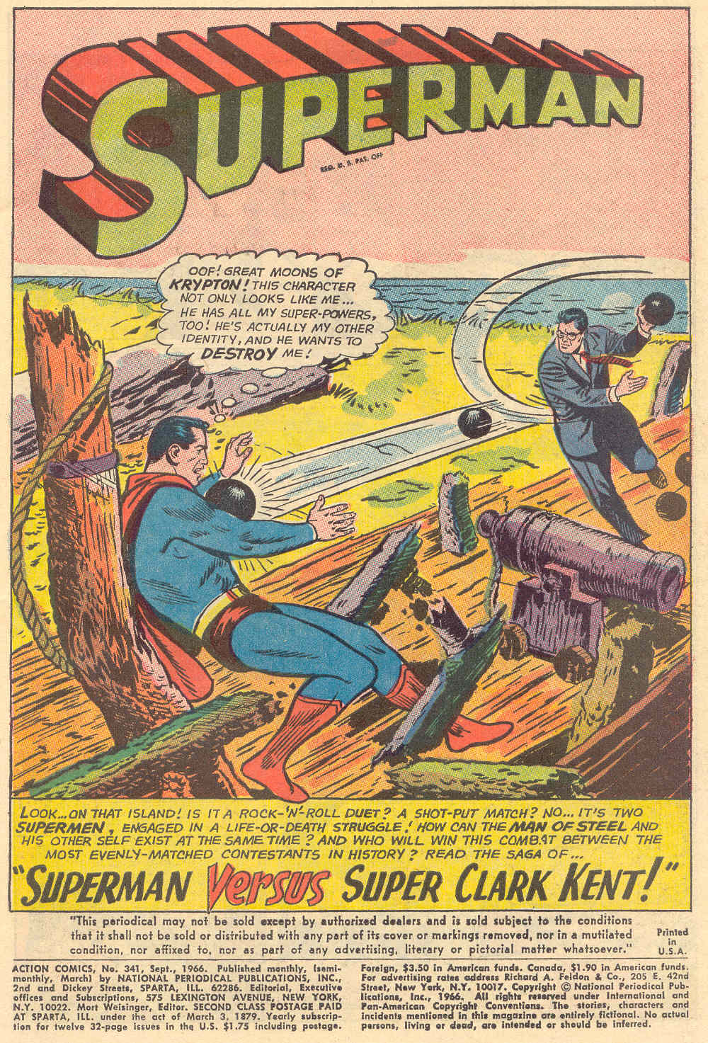 Read online Action Comics (1938) comic -  Issue #341 - 3