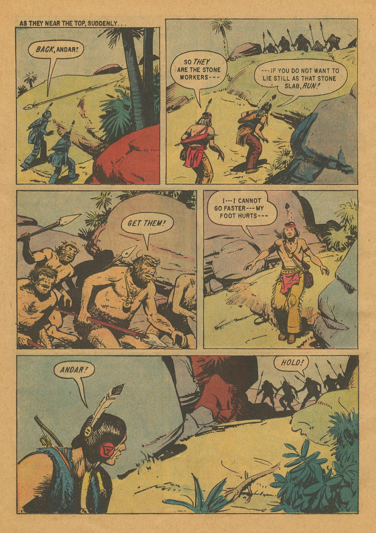 Read online Turok, Son of Stone comic -  Issue #22 - 24