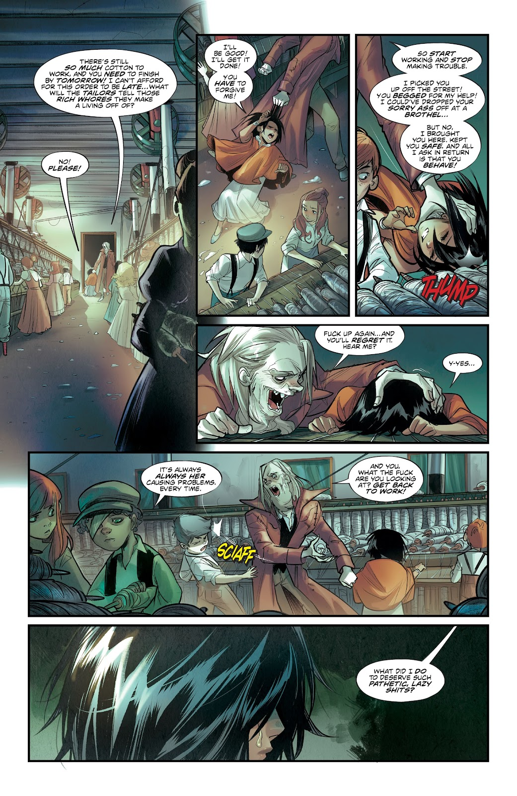 Read online Mirka Andolfo's Mercy comic -  Issue #1 - 16