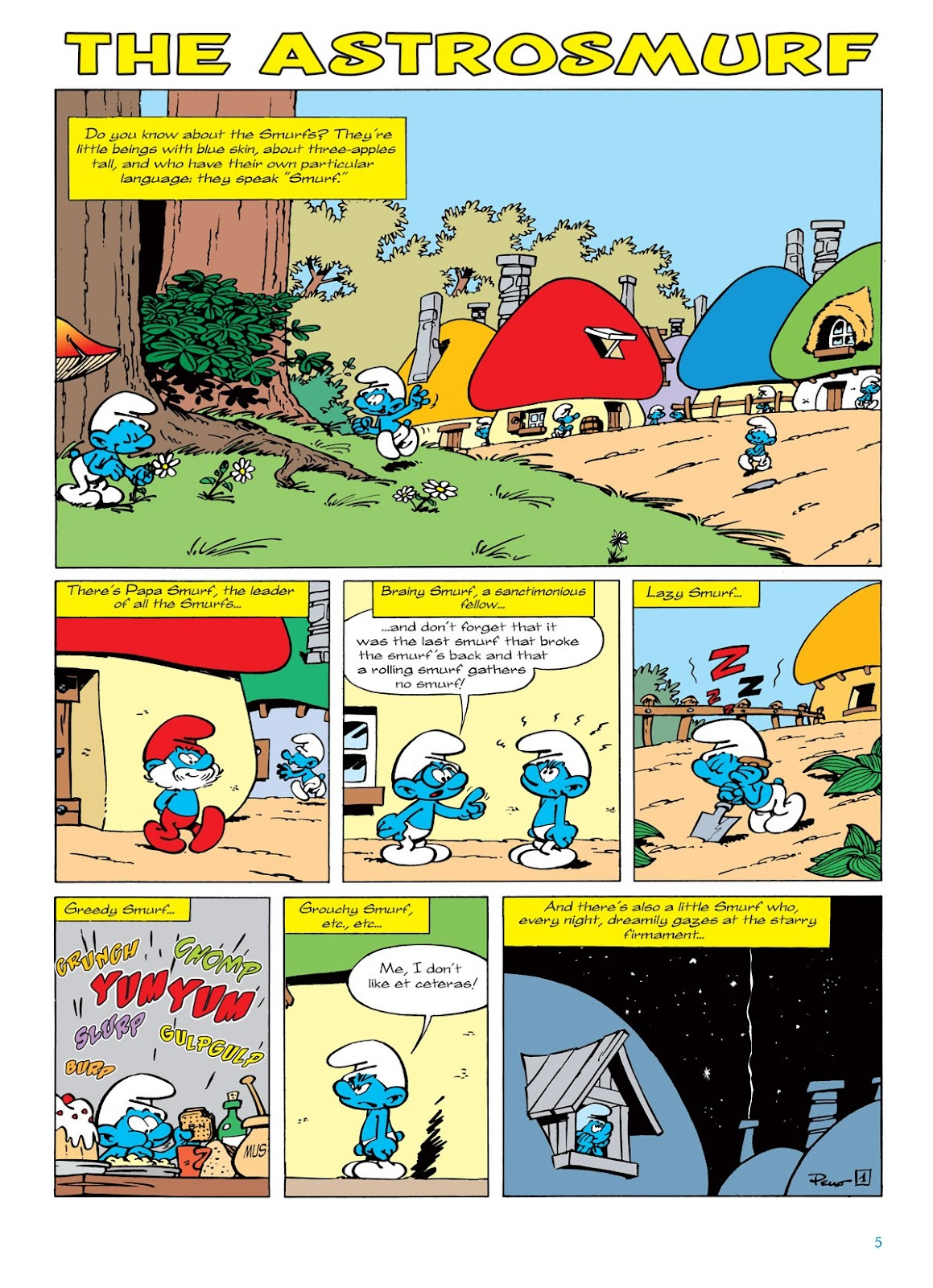 Read online The Smurfs comic -  Issue #7 - 5