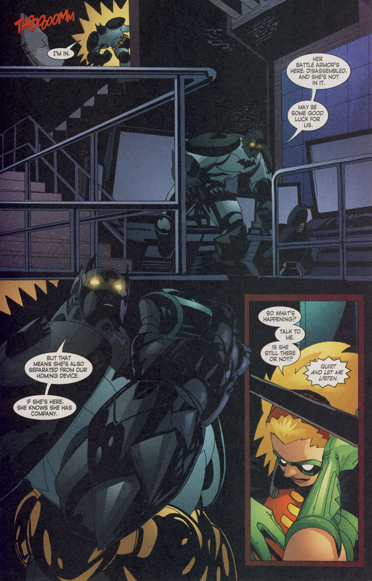 Read online Batman War Drums comic -  Issue # TPB - 236