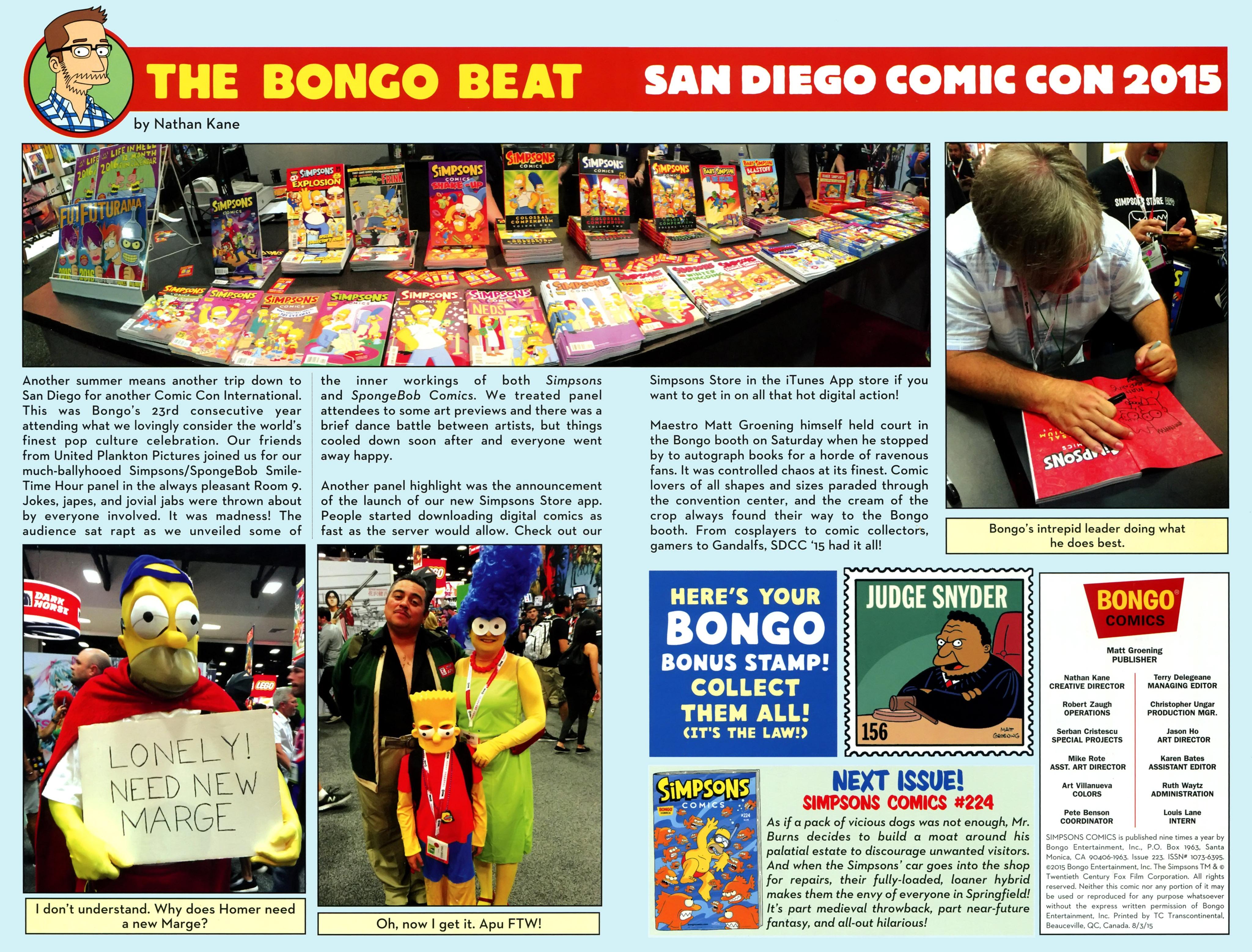 Read online Simpsons Comics comic -  Issue #223 - 28
