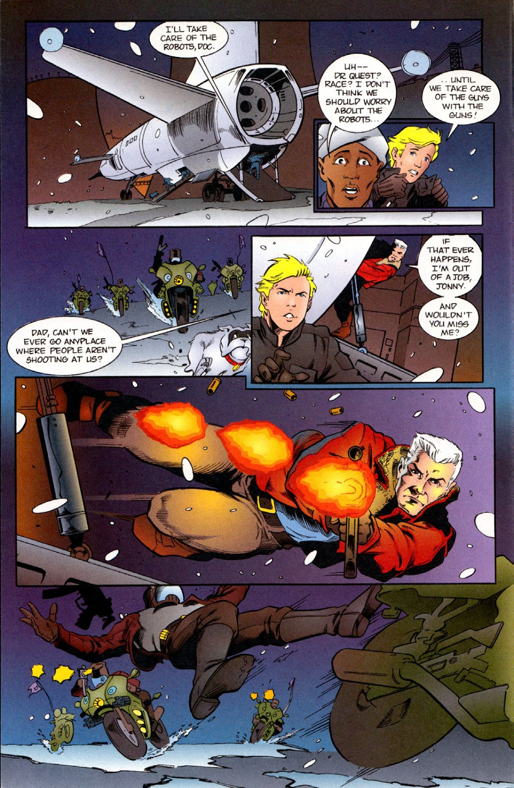 Read online The Real Adventures of Jonny Quest comic -  Issue #6 - 6