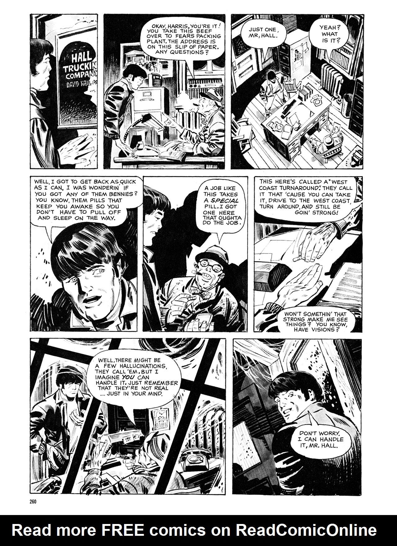 Read online Eerie Archives comic -  Issue # TPB 8 - 261
