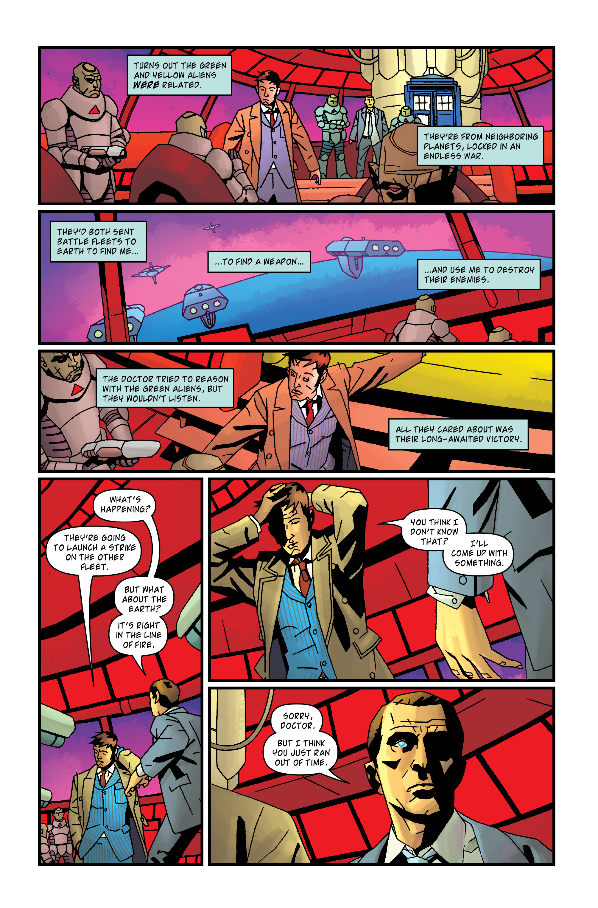 Read online Doctor Who: The Tenth Doctor Archives comic -  Issue #35 - 32