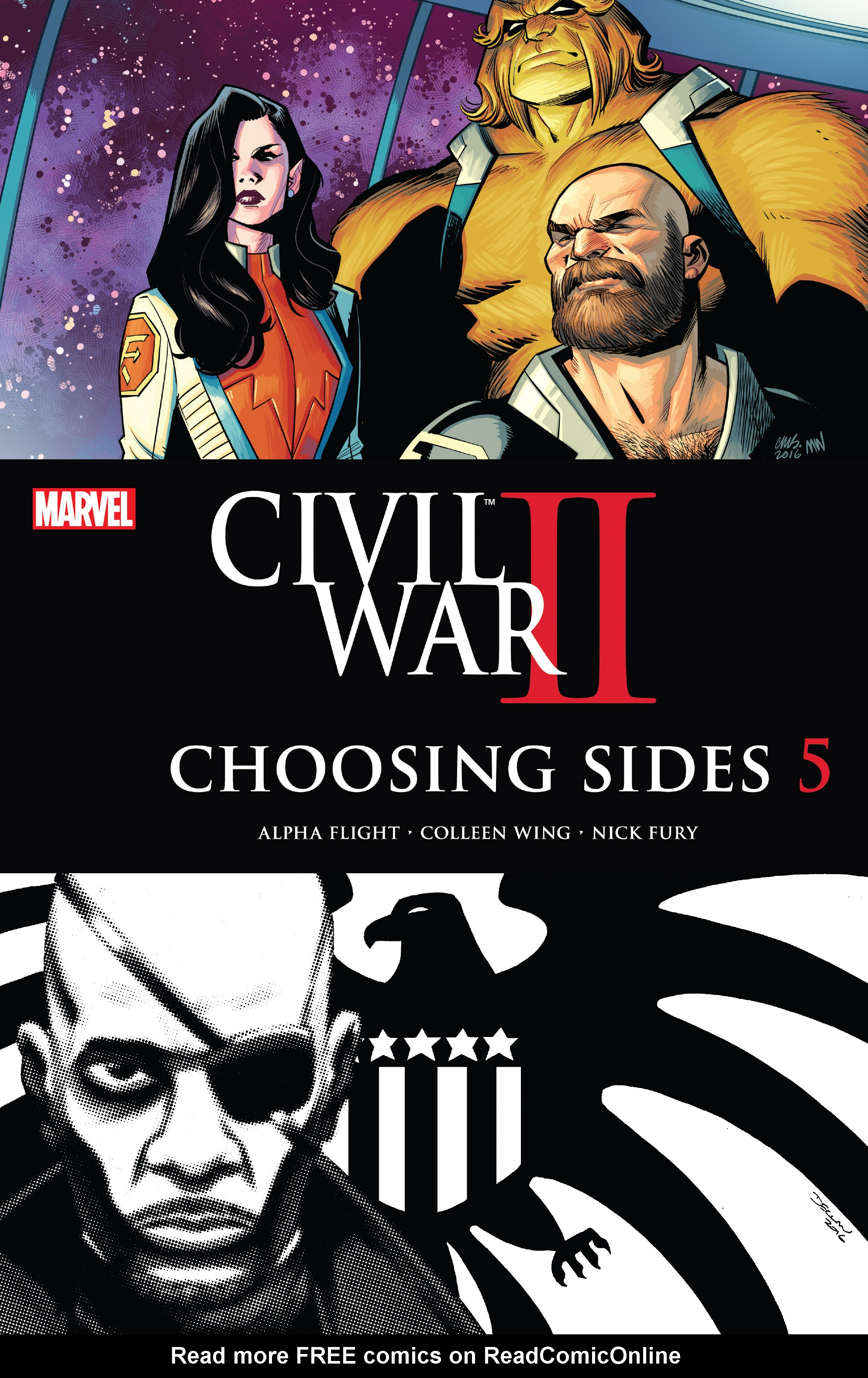 Civil War II: Choosing Sides 5 Page 1