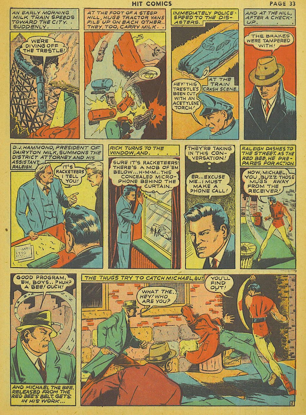 Read online Hit Comics comic -  Issue #13 - 35