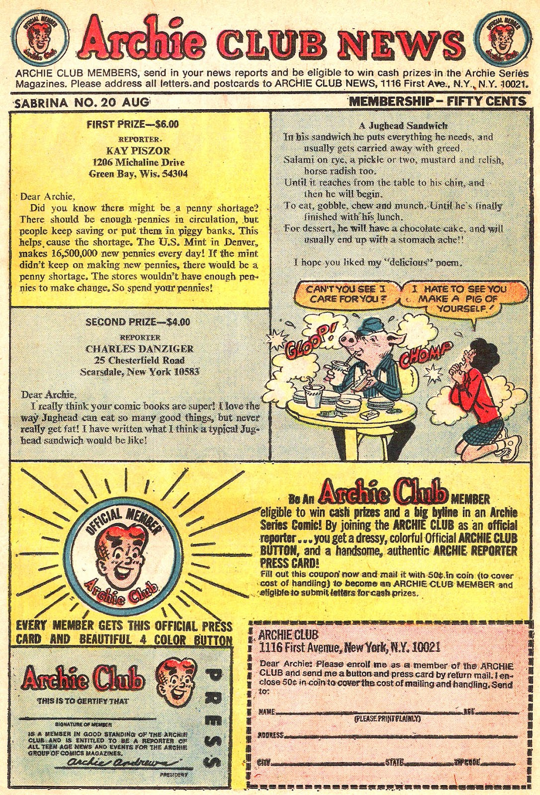 Sabrina The Teenage Witch (1971) Issue #20 #20 - English 11