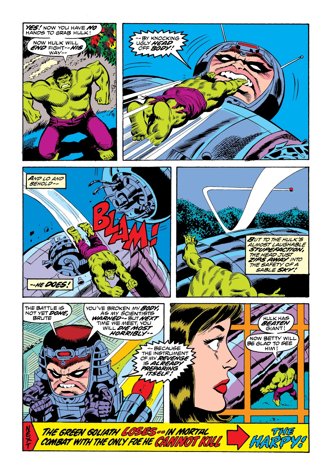 Read online Marvel Masterworks: The Incredible Hulk comic -  Issue # TPB 9 (Part 3) - 36