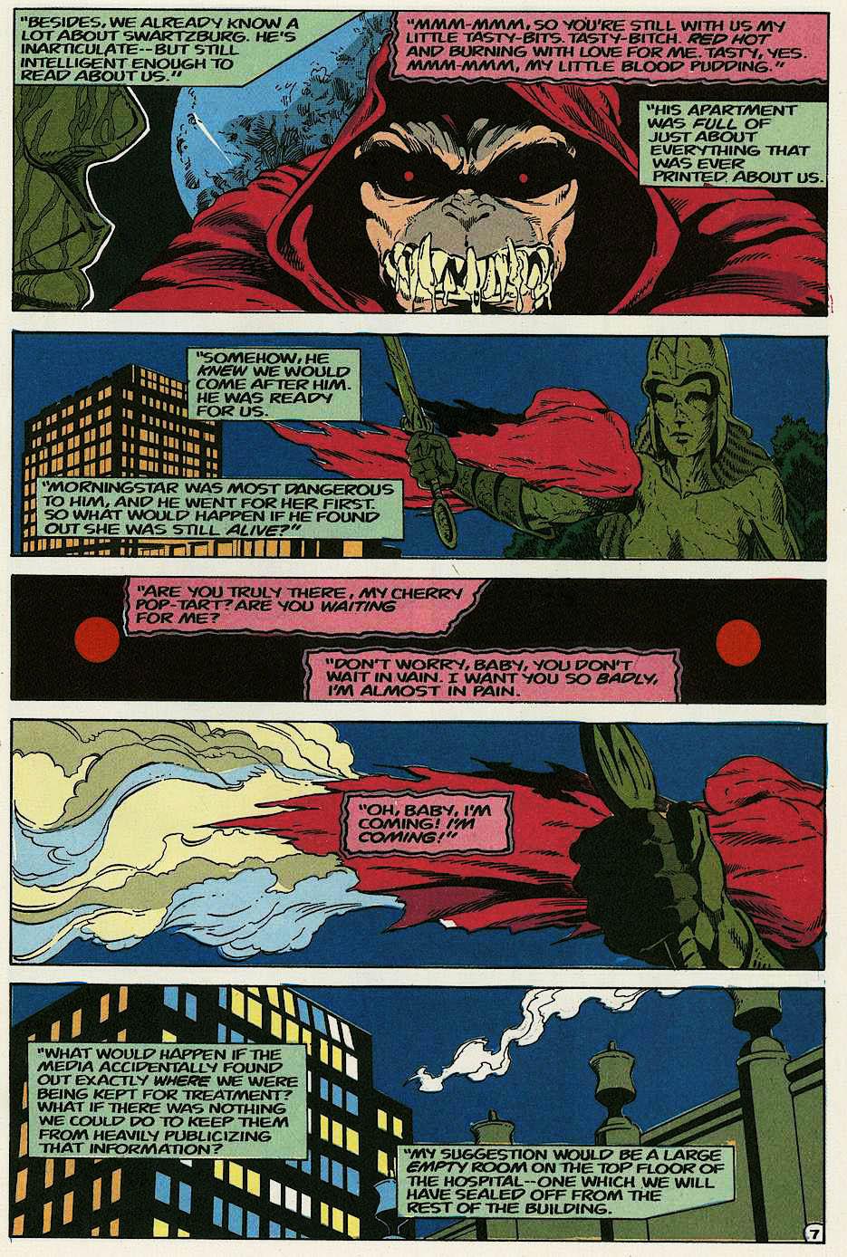 Elementals (1984) issue 17 - Page 9