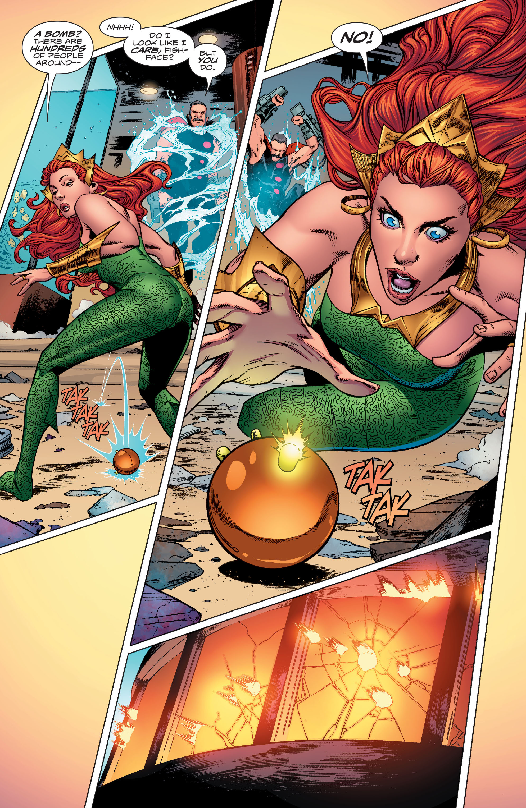 Read online Aquaman (2016) comic -  Issue #10 - 20