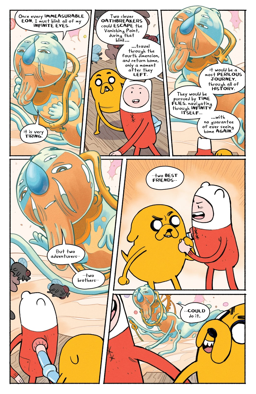 Read online Adventure Time: Beginning of the End comic -  Issue # _TPB - 72