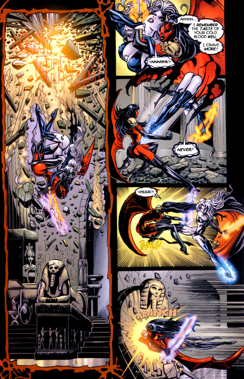 Read online Lady Death vs. Purgatori comic -  Issue # Full - 13