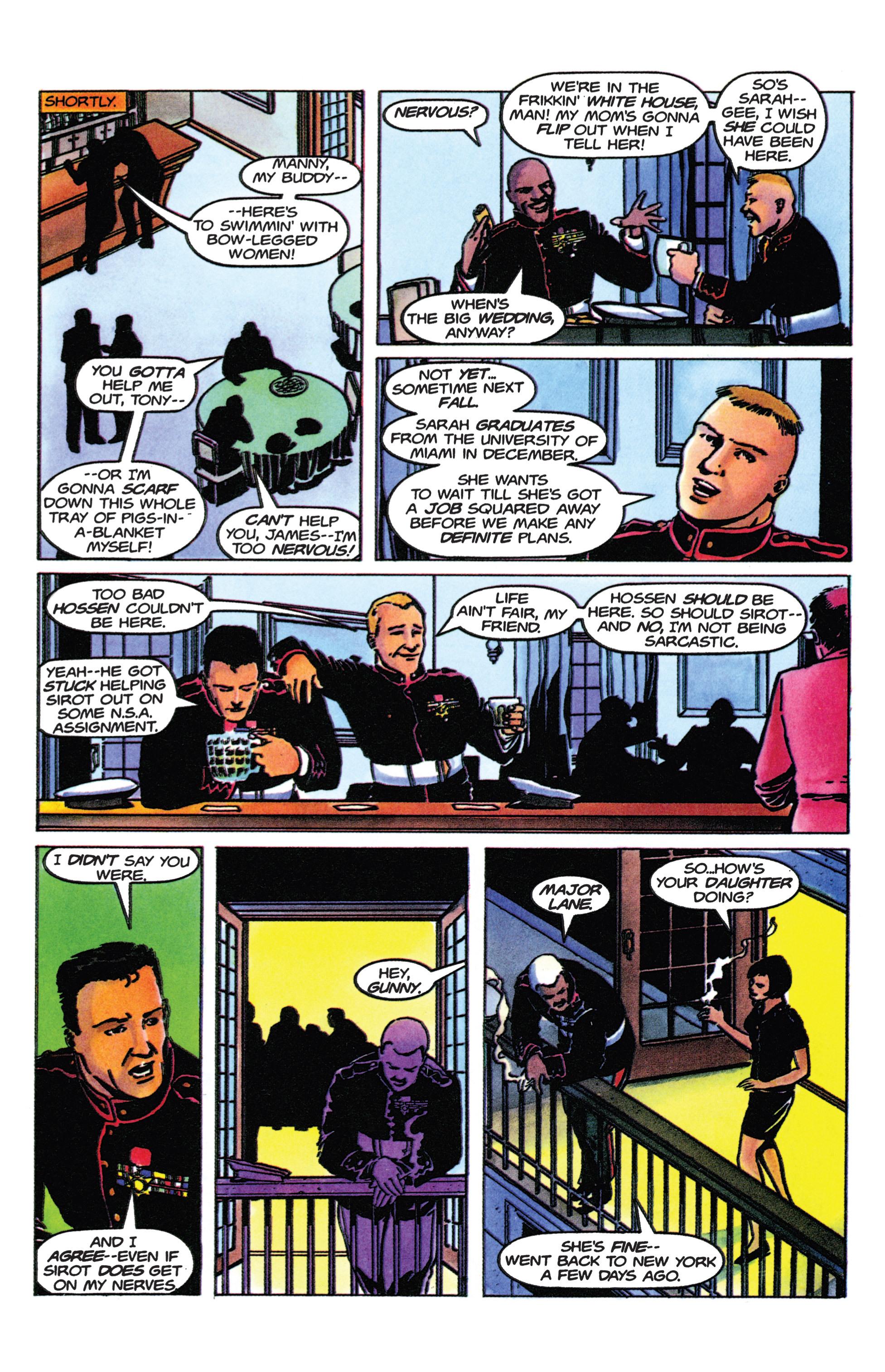 Read online Armorines comic -  Issue #9 - 7