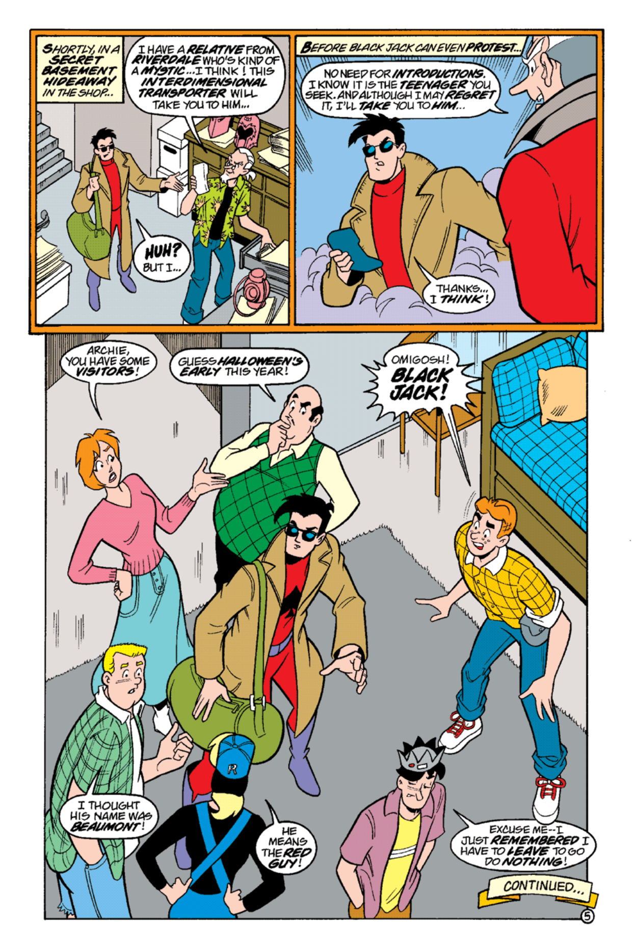 Read online Archie's Weird Mysteries comic -  Issue #14 - 7