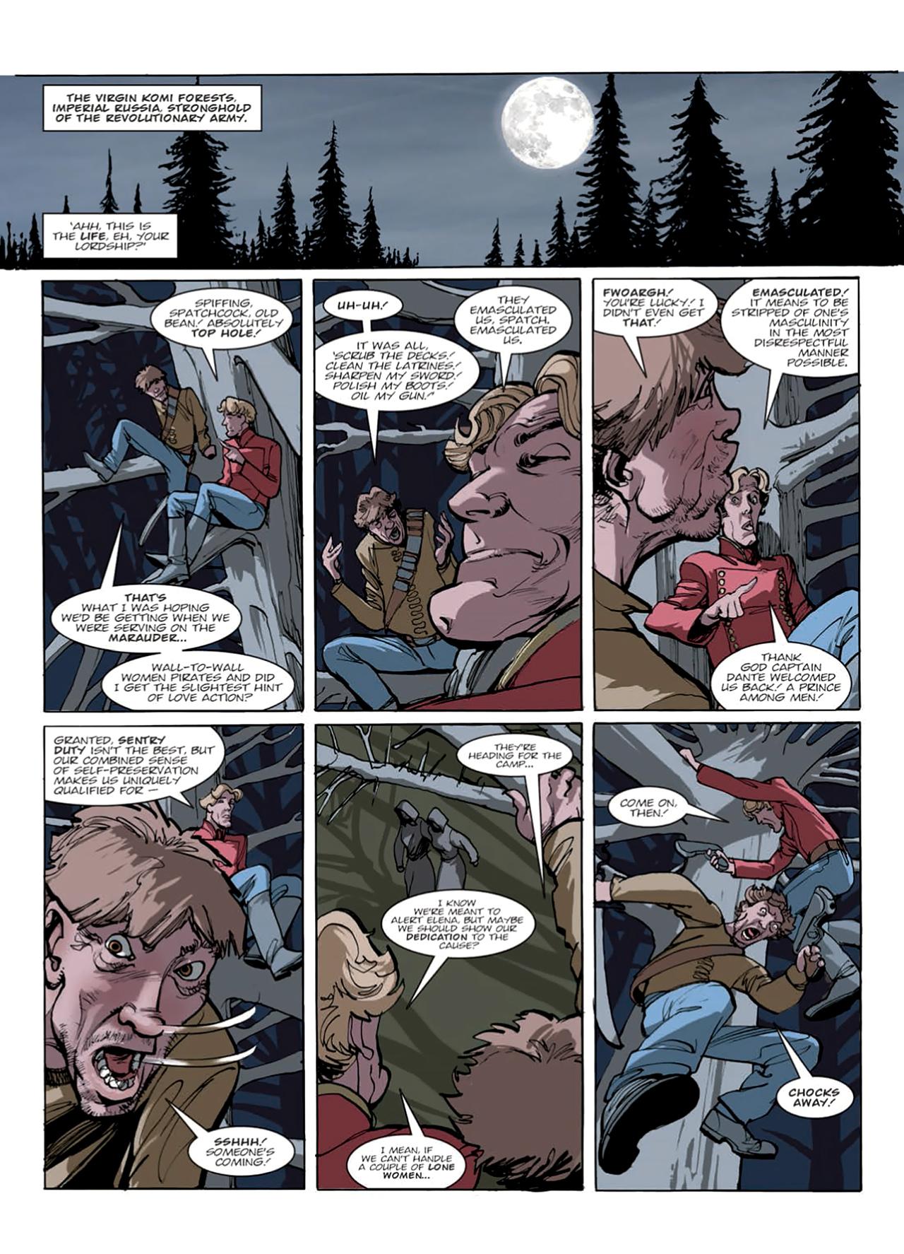 Read online Nikolai Dante comic -  Issue # TPB 9 - 131