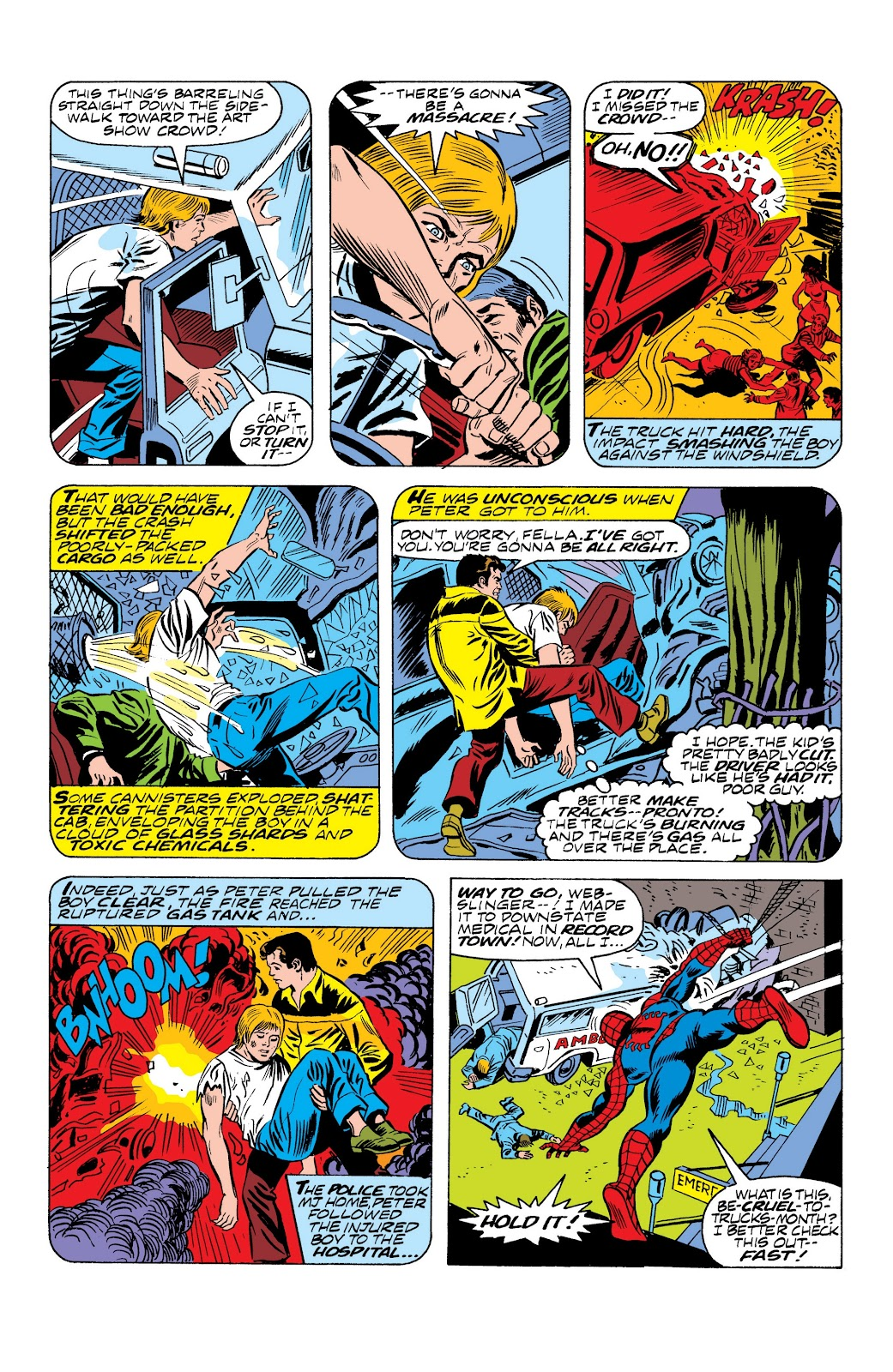 Read online Marvel Masterworks: The Spectacular Spider-Man comic -  Issue # TPB (Part 2) - 79