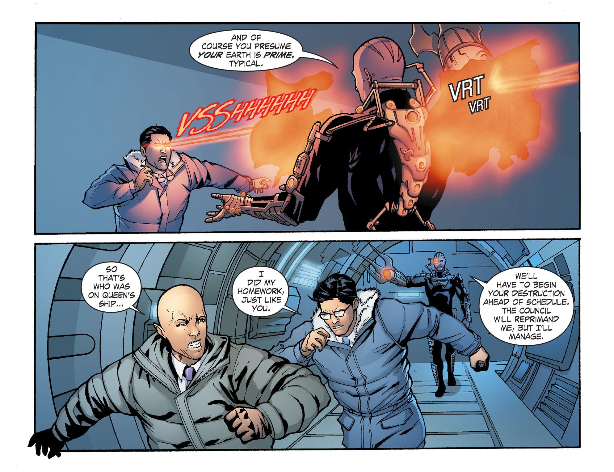 Read online Smallville: Alien comic -  Issue #9 - 13