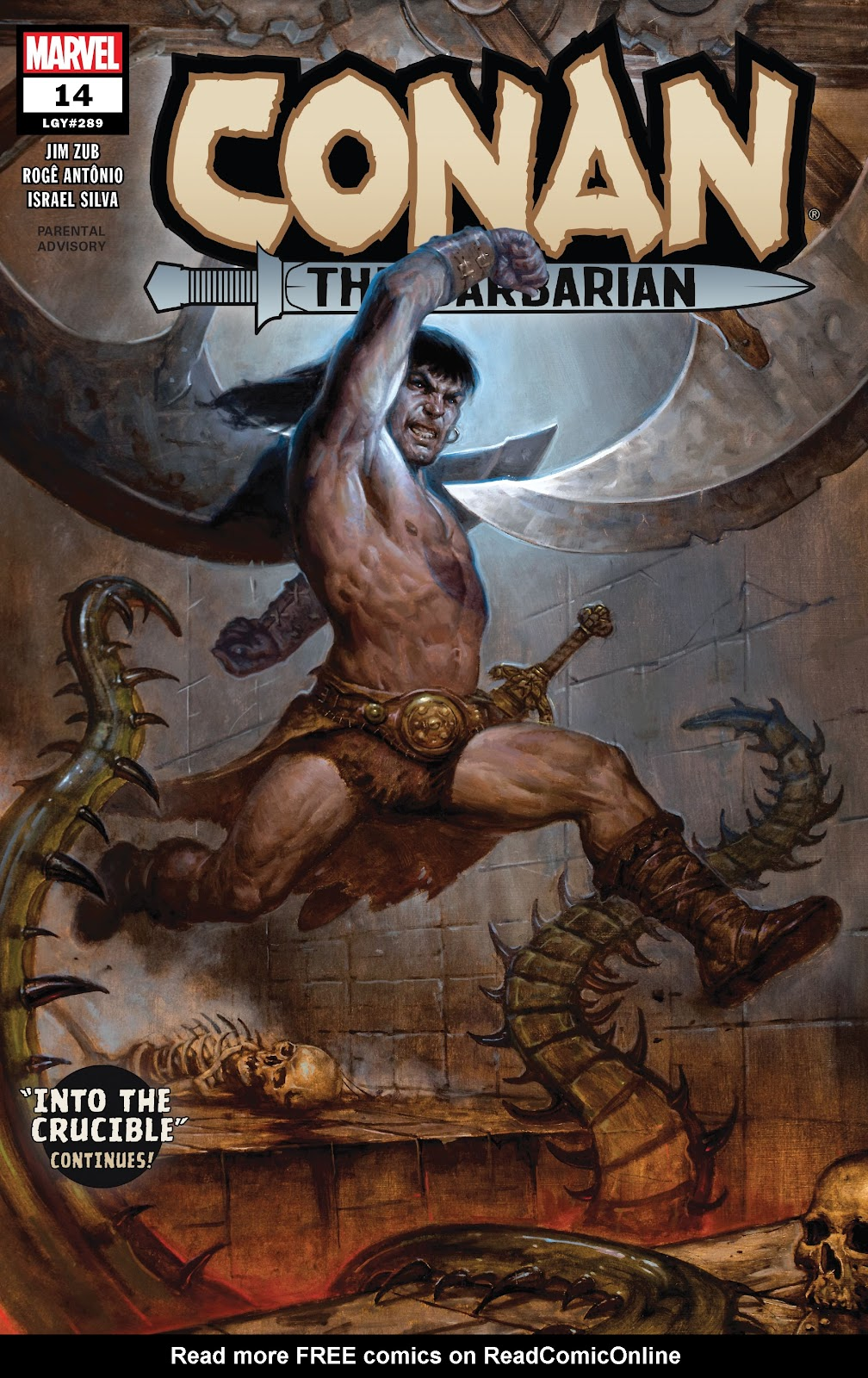 Conan the Barbarian (2019) 14 Page 1