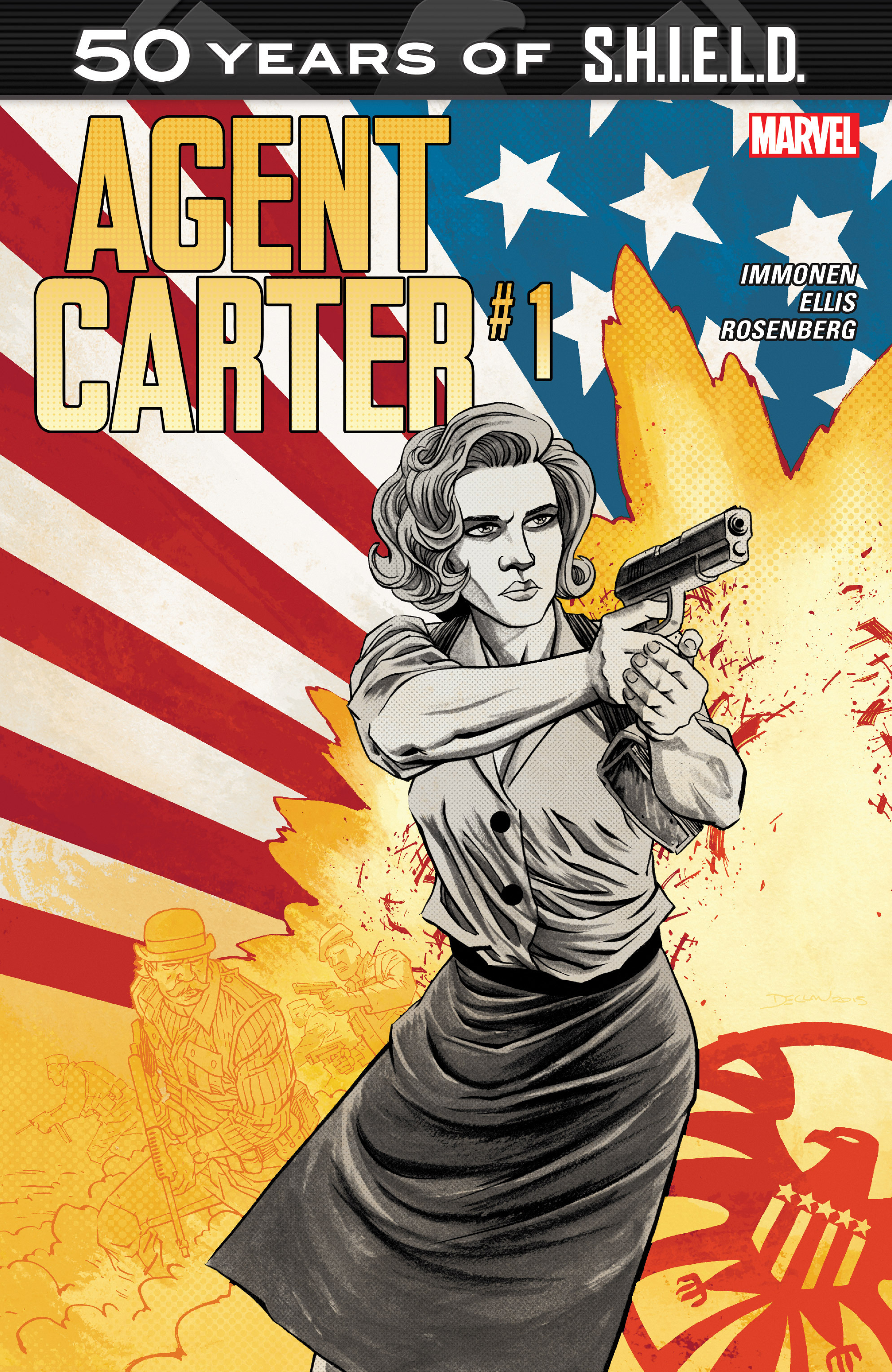 Agent Carter: S.H.I.E.L.D. 50th Anniversary Full Page 1