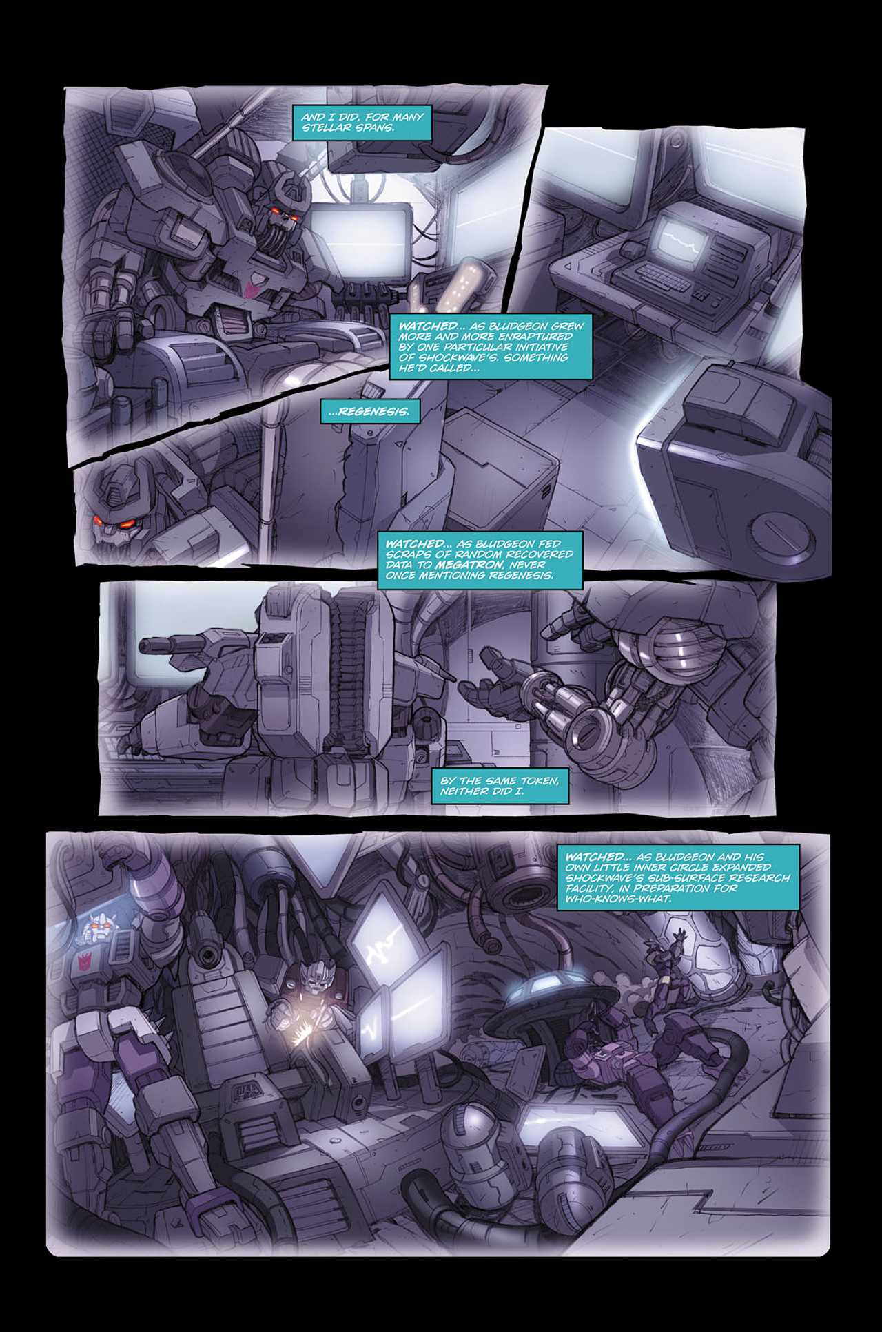 Read online Transformers Spotlight: Soundwave comic -  Issue # Full - 7