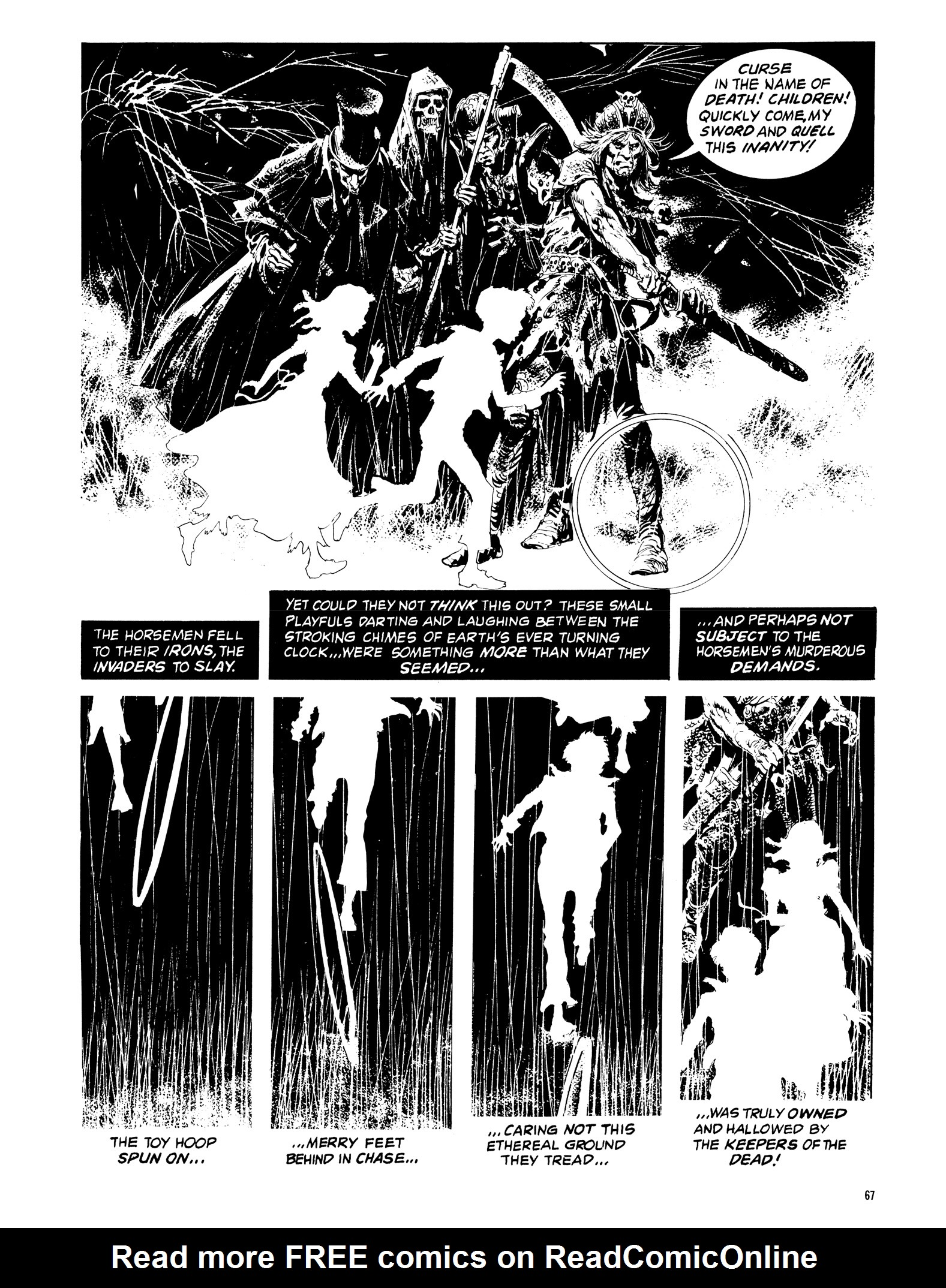 Read online Eerie Archives comic -  Issue # TPB 14 - 68