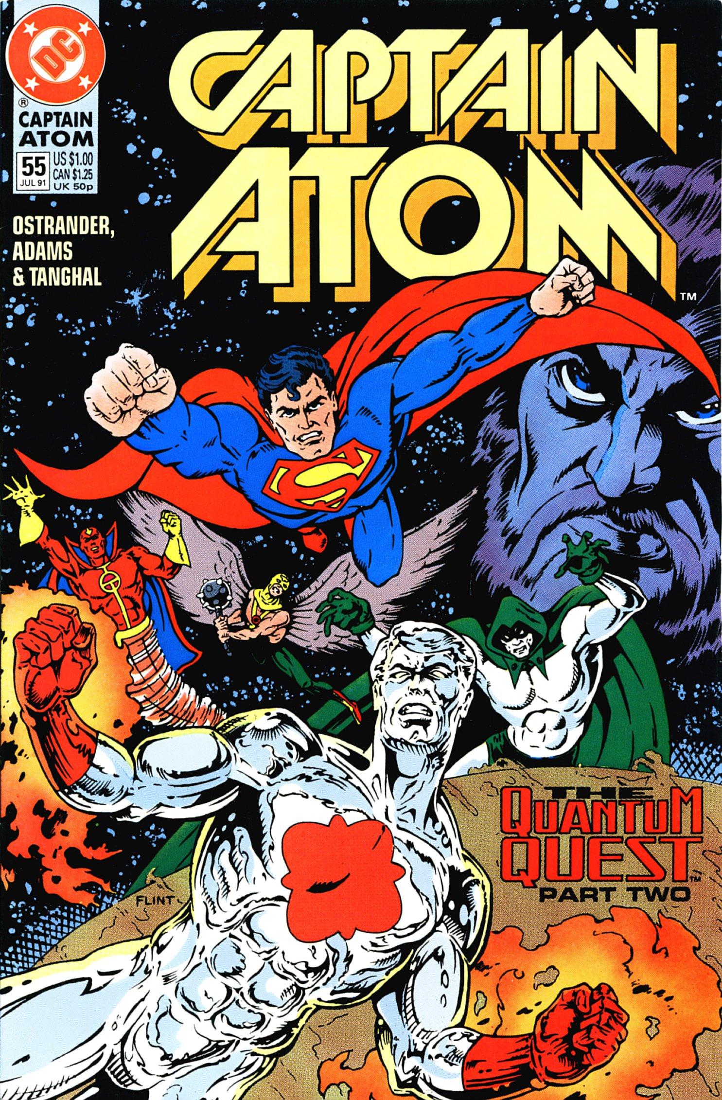 Captain Atom (1987) 55 Page 1