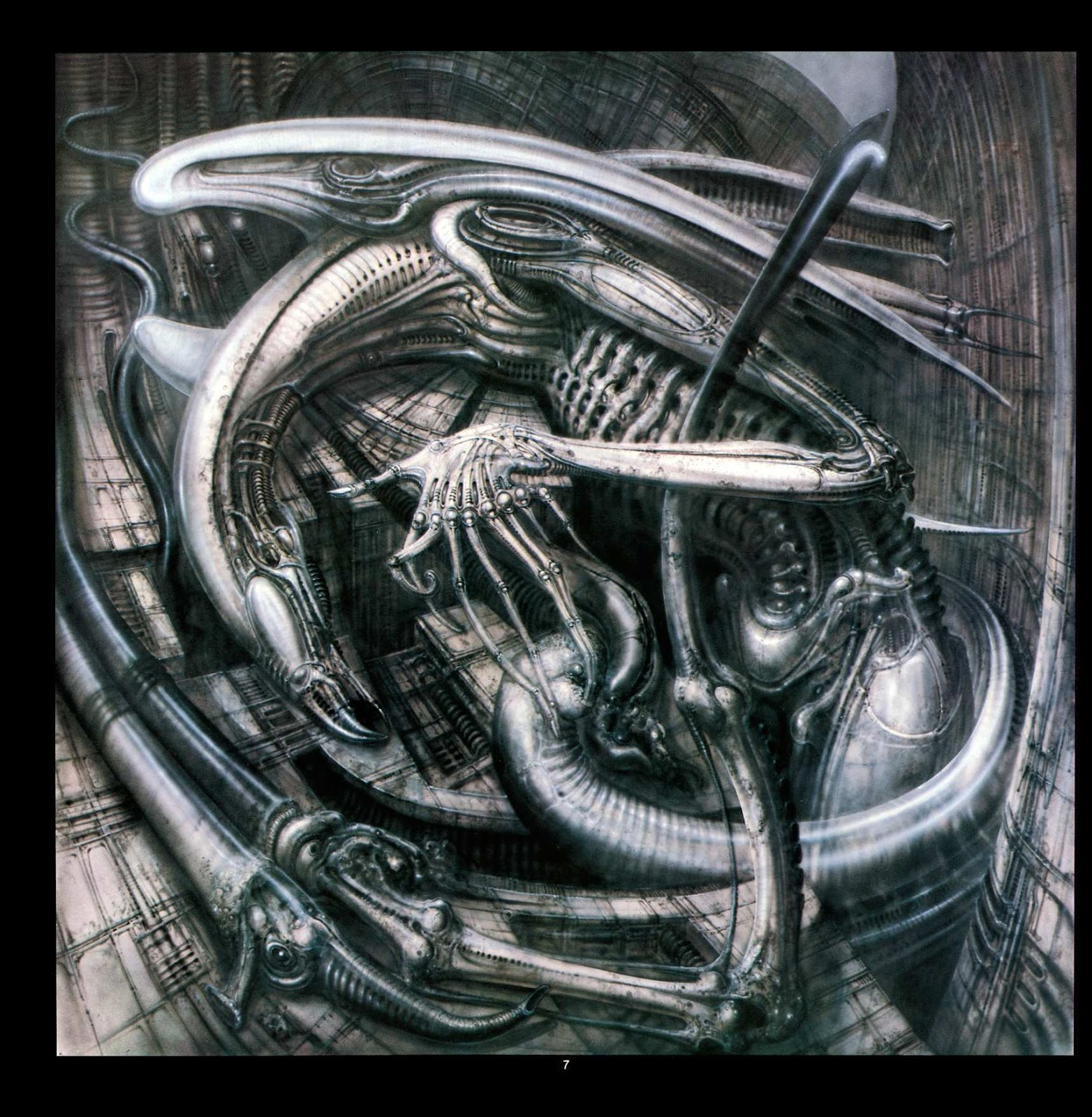 Read online Giger's Alien comic -  Issue # TPB - 9