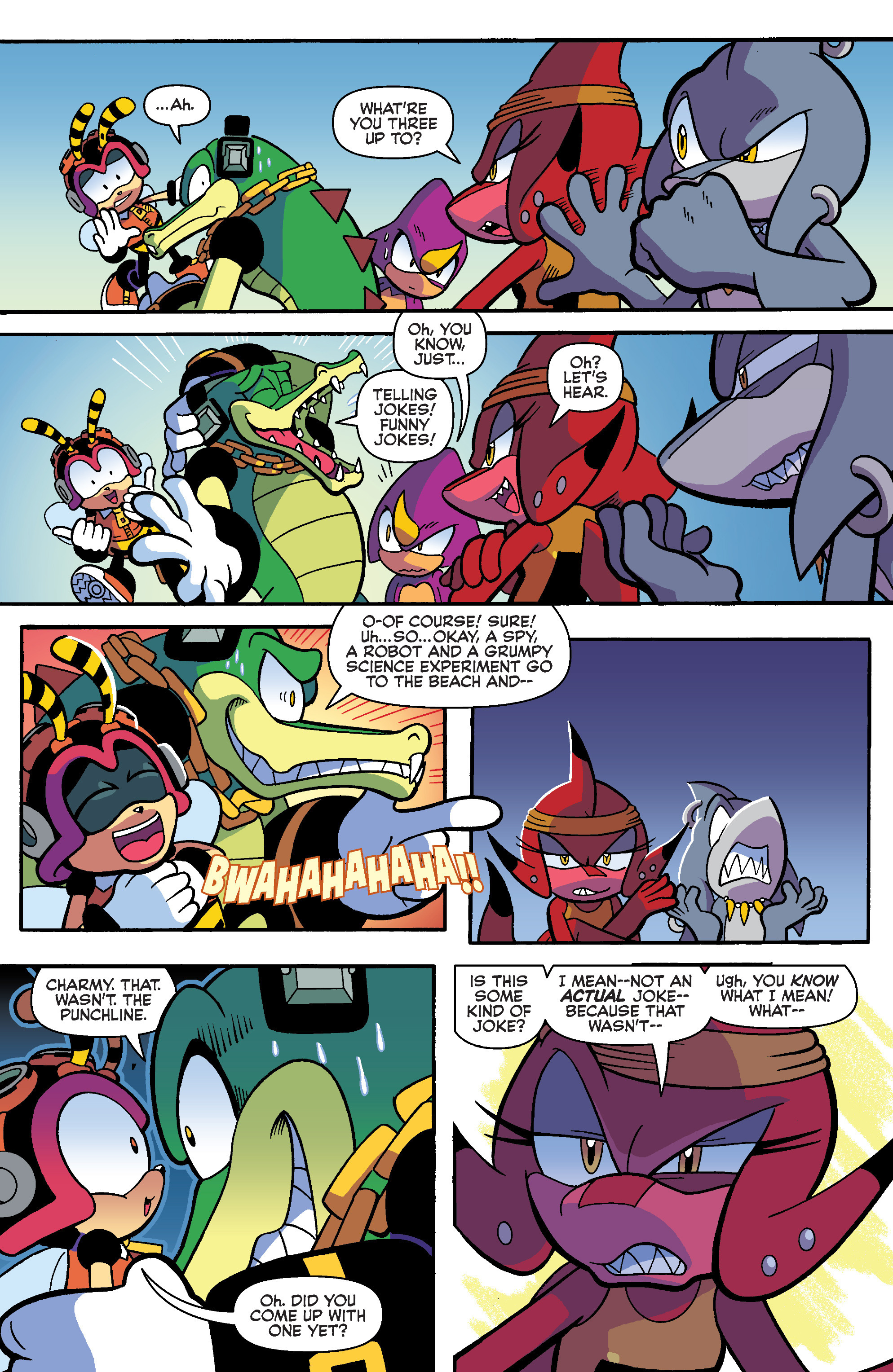 Read online Sonic Universe comic -  Issue #93 - 8