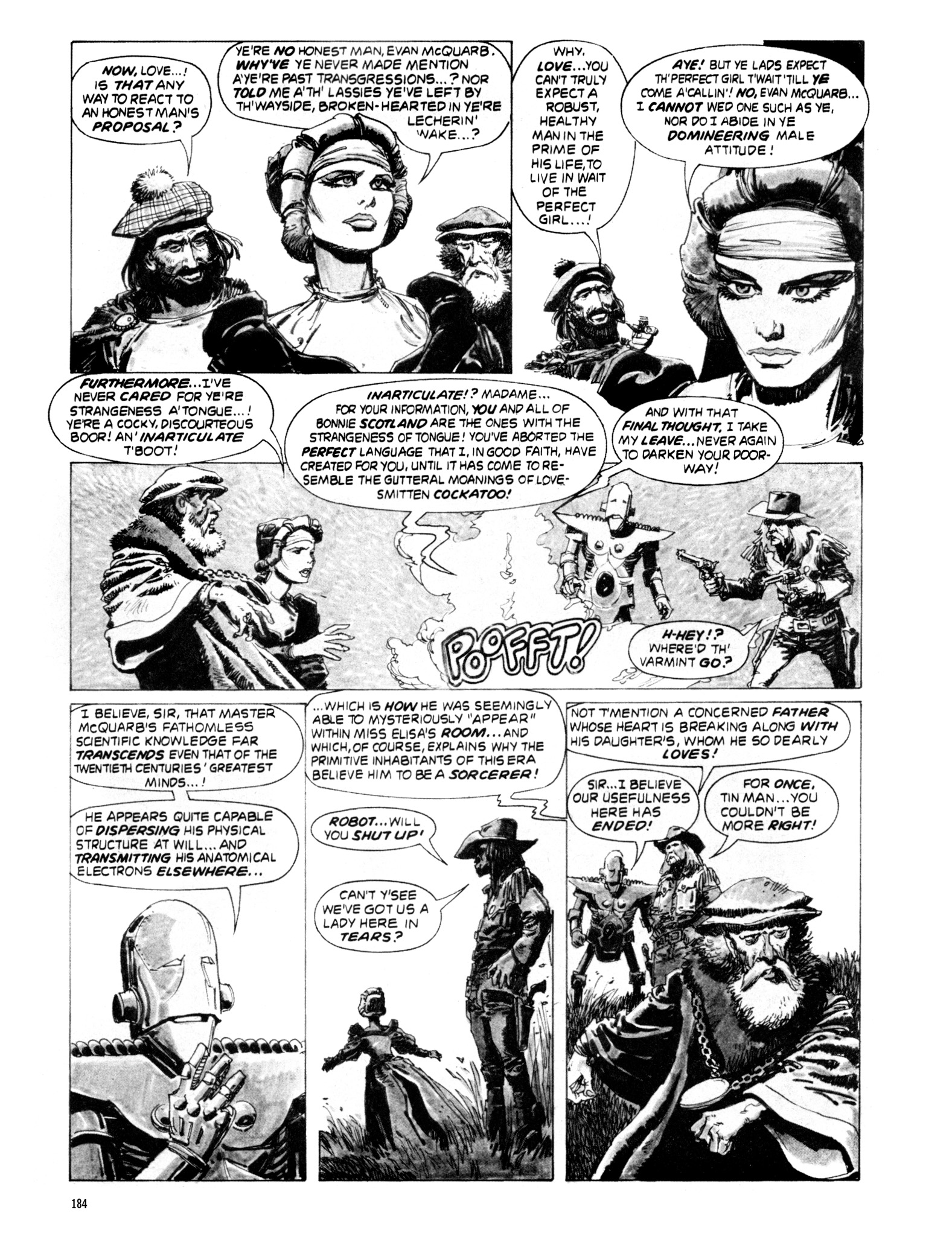 Read online Eerie Archives comic -  Issue # TPB 20 - 184