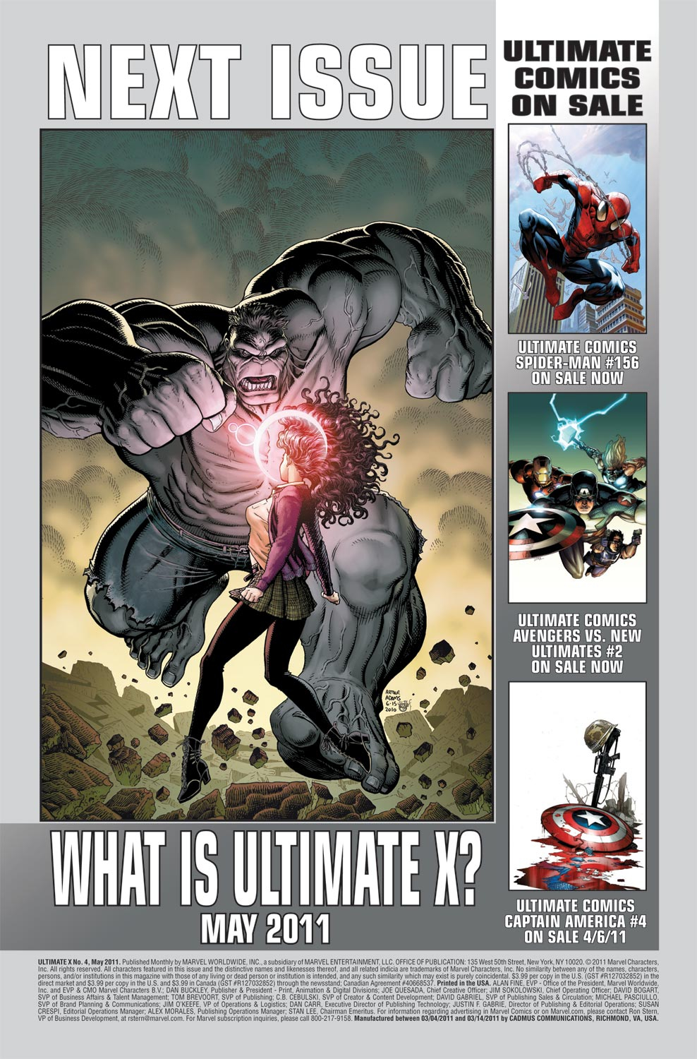 Read online Ultimate X comic -  Issue #4 - 26