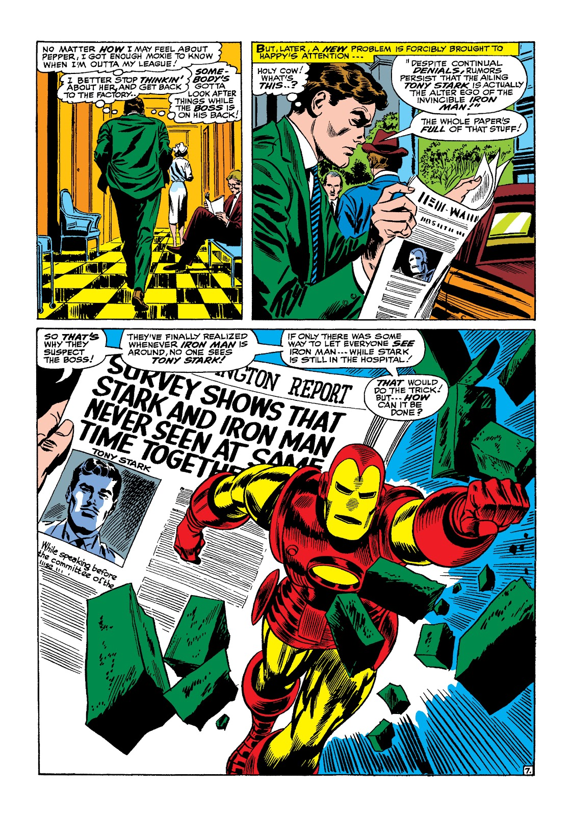 Read online Marvel Masterworks: The Invincible Iron Man comic -  Issue # TPB 4 (Part 1) - 13