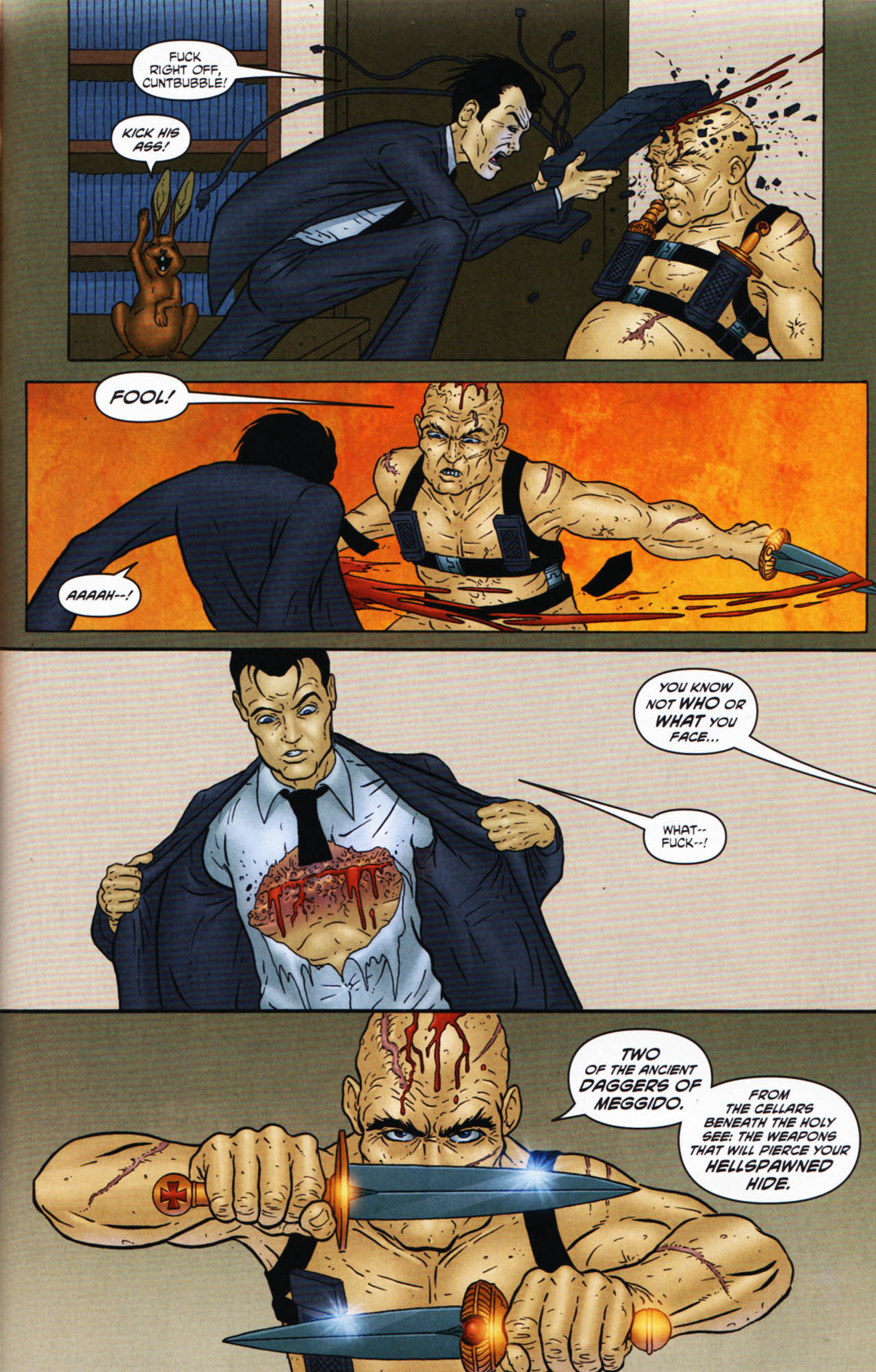 Read online Chronicles of Wormwood: The Last Enemy comic -  Issue # Full - 31