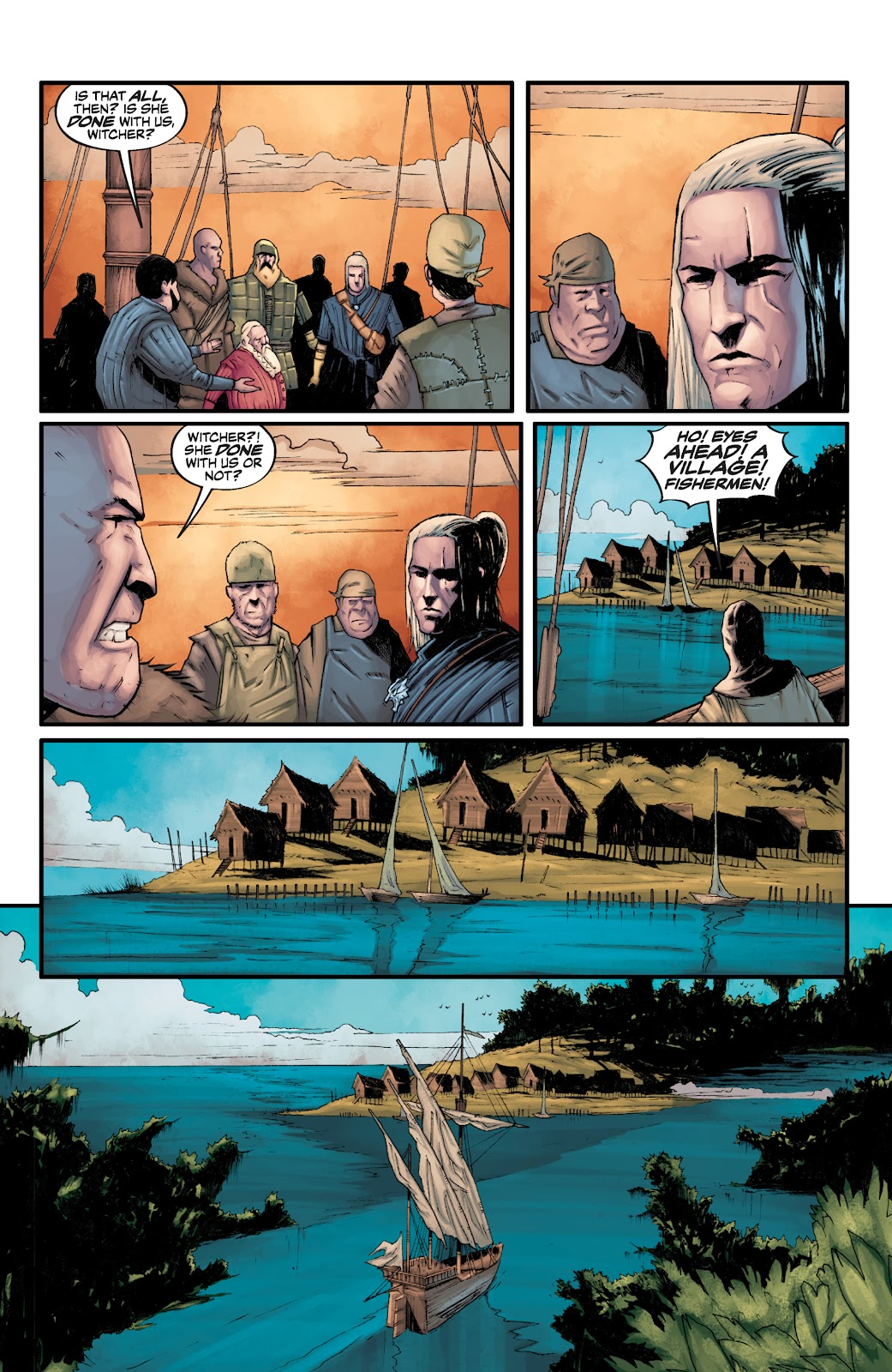 Read online The Witcher Omnibus comic -  Issue # TPB (Part 3) - 32