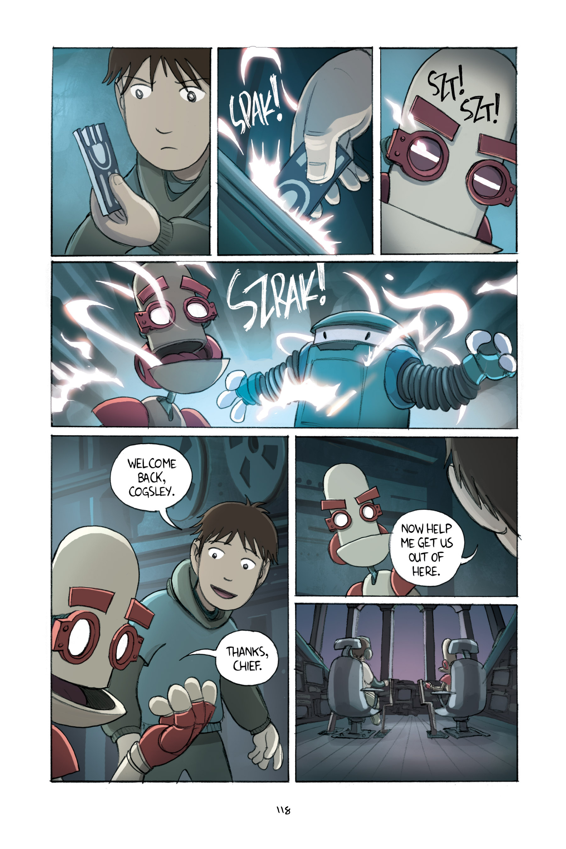 Read online Amulet comic -  Issue #2 - 118