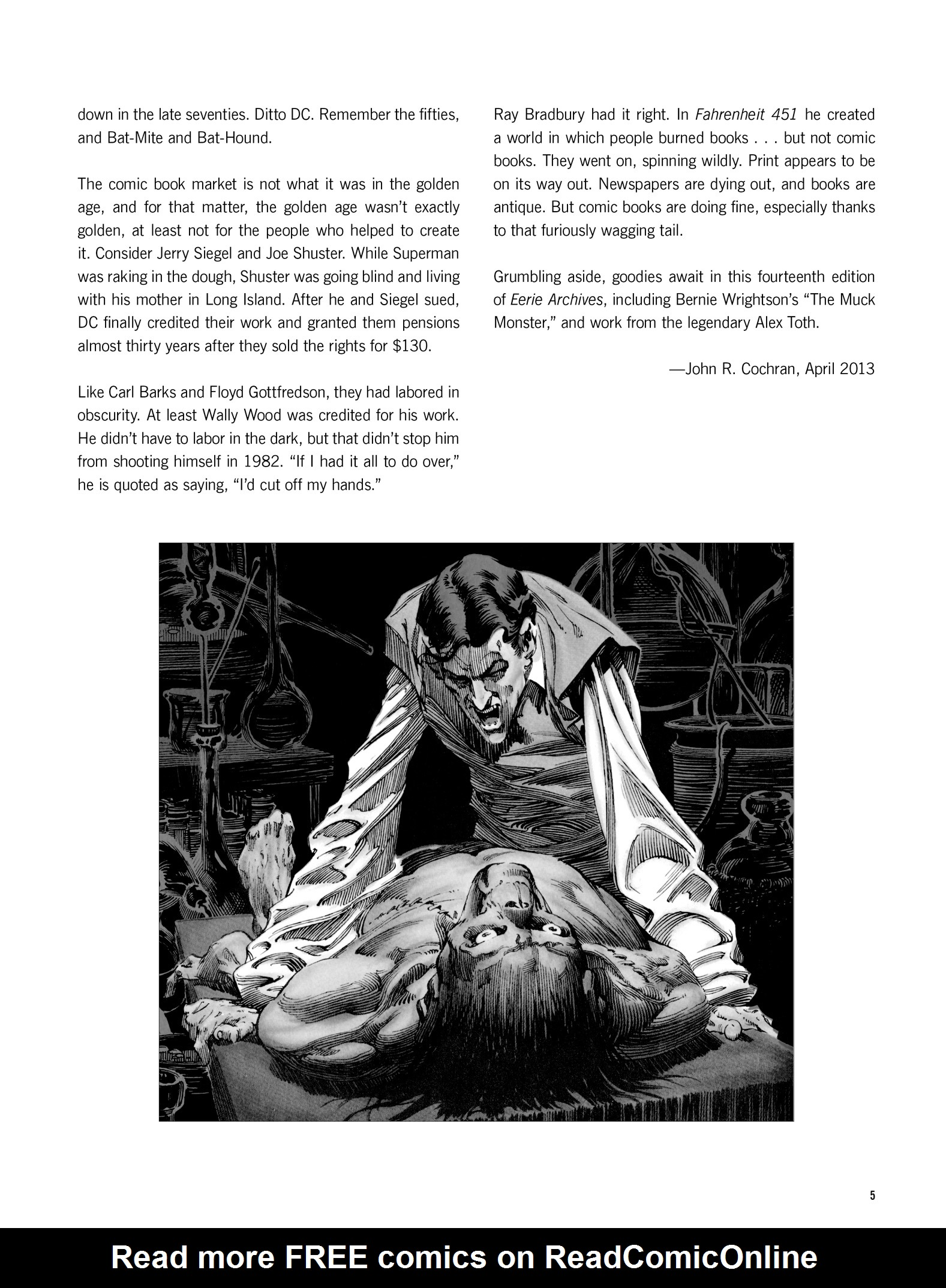 Read online Eerie Archives comic -  Issue # TPB 14 - 6