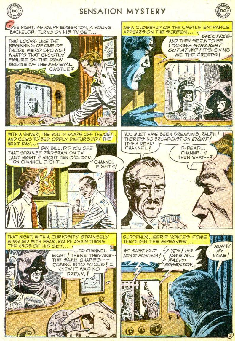 Read online Sensation (Mystery) Comics comic -  Issue #113 - 27