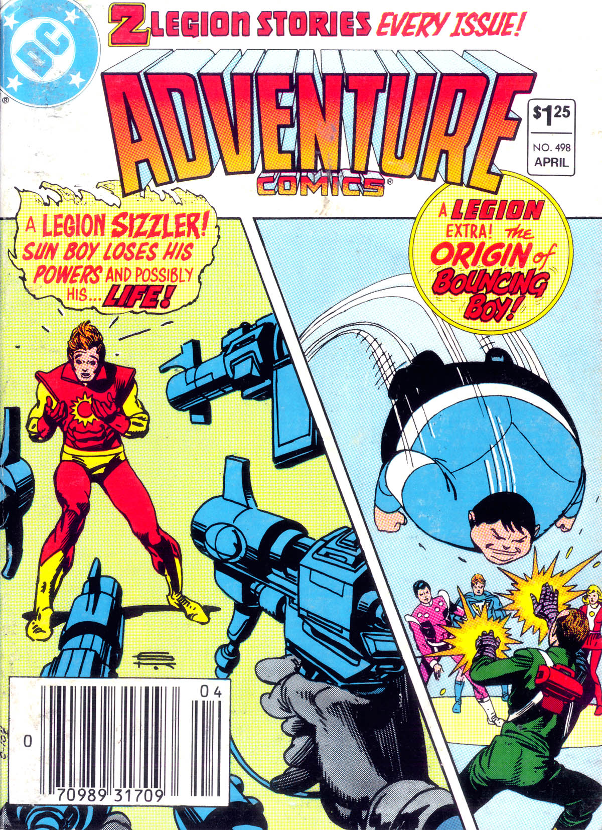 Read online Adventure Comics (1938) comic -  Issue #498 - 1