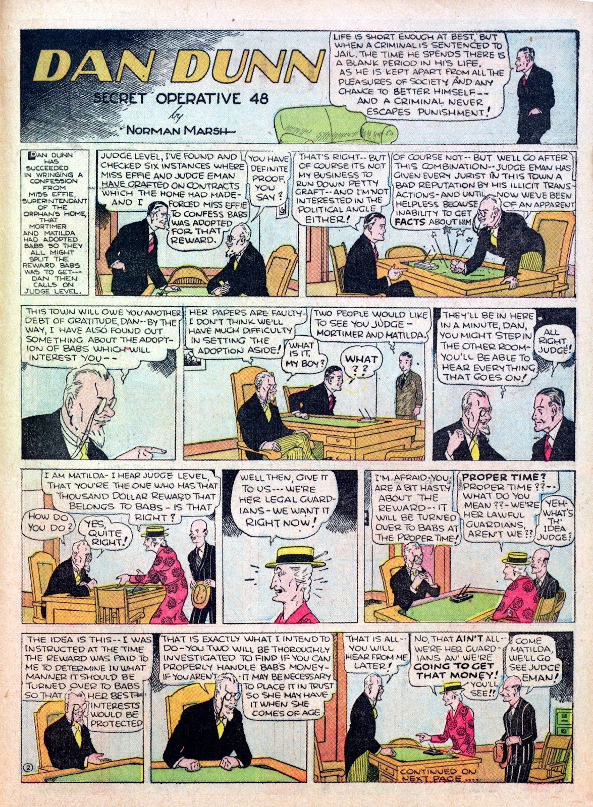 Read online Famous Funnies comic -  Issue #15 - 57
