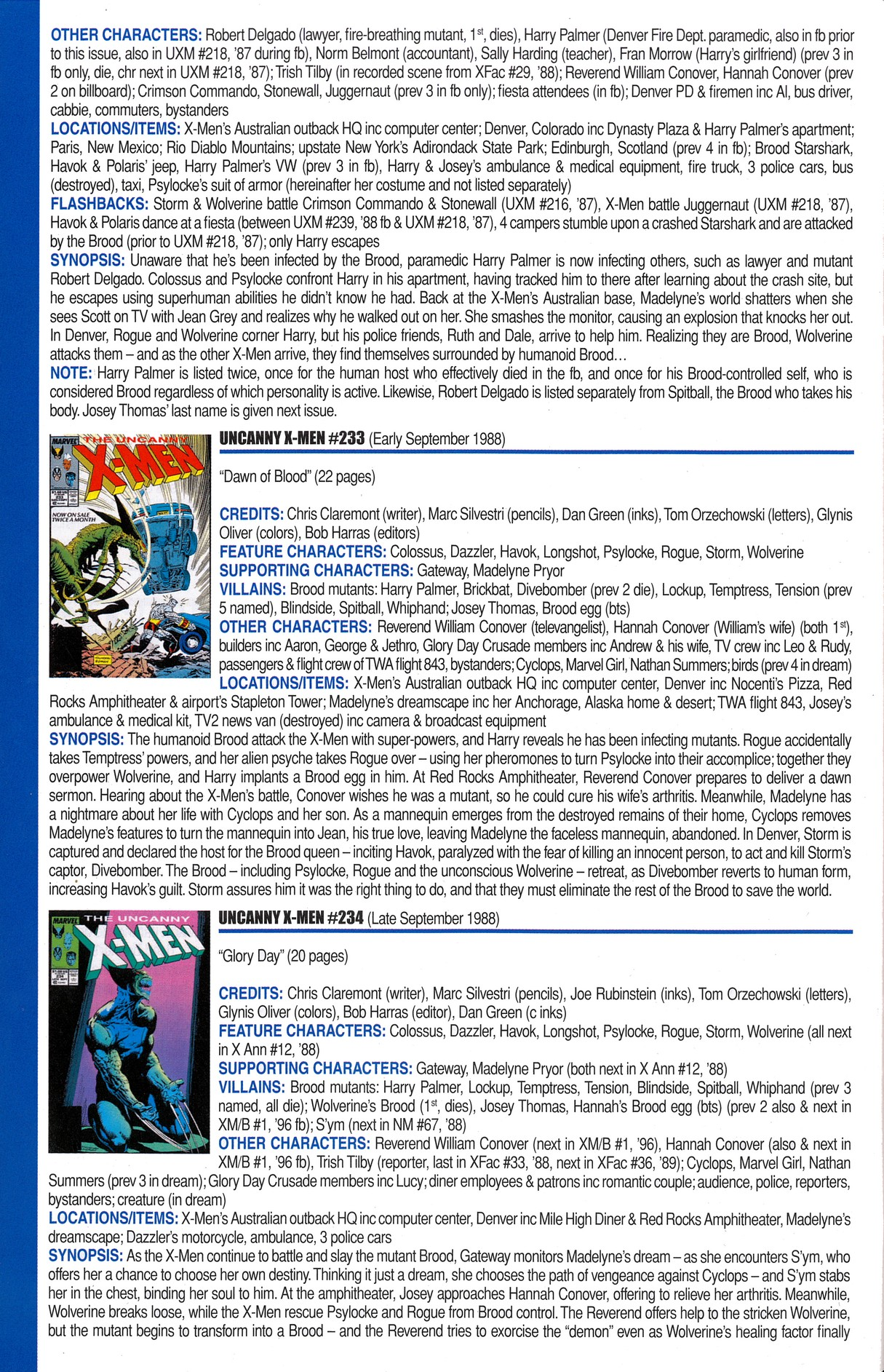 Read online Official Index to the Marvel Universe comic -  Issue #6 - 46