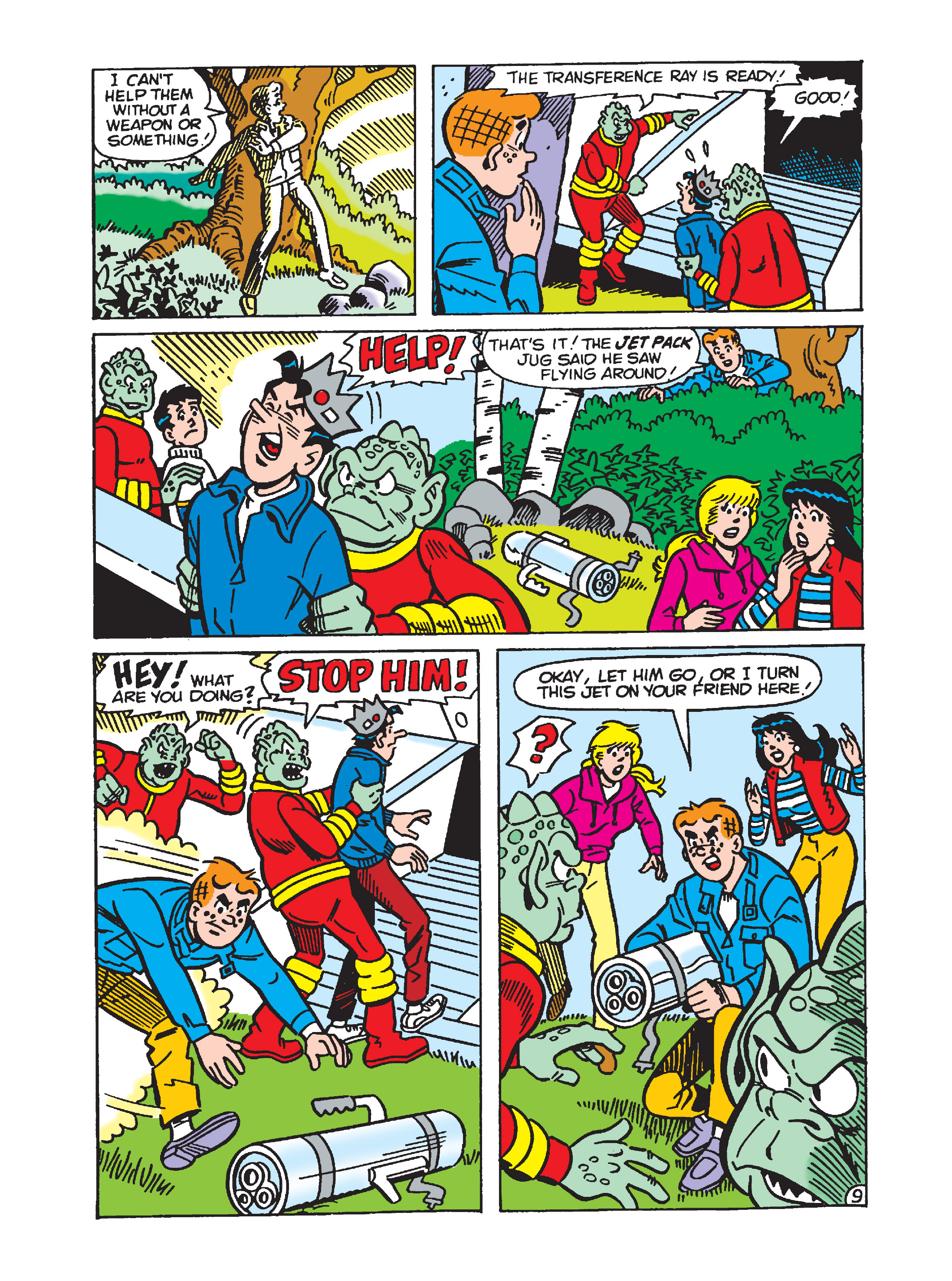 Read online Archie 1000 Page Comics Bonanza comic -  Issue #1 (Part 1) - 92