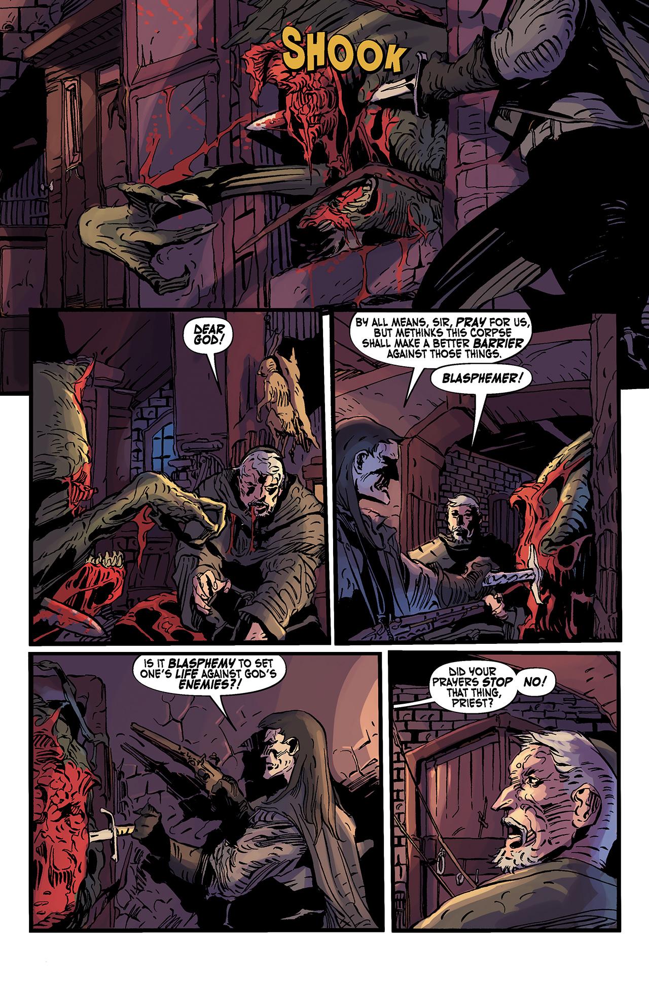 Read online Solomon Kane: Death's Black Riders comic -  Issue #3 - 8