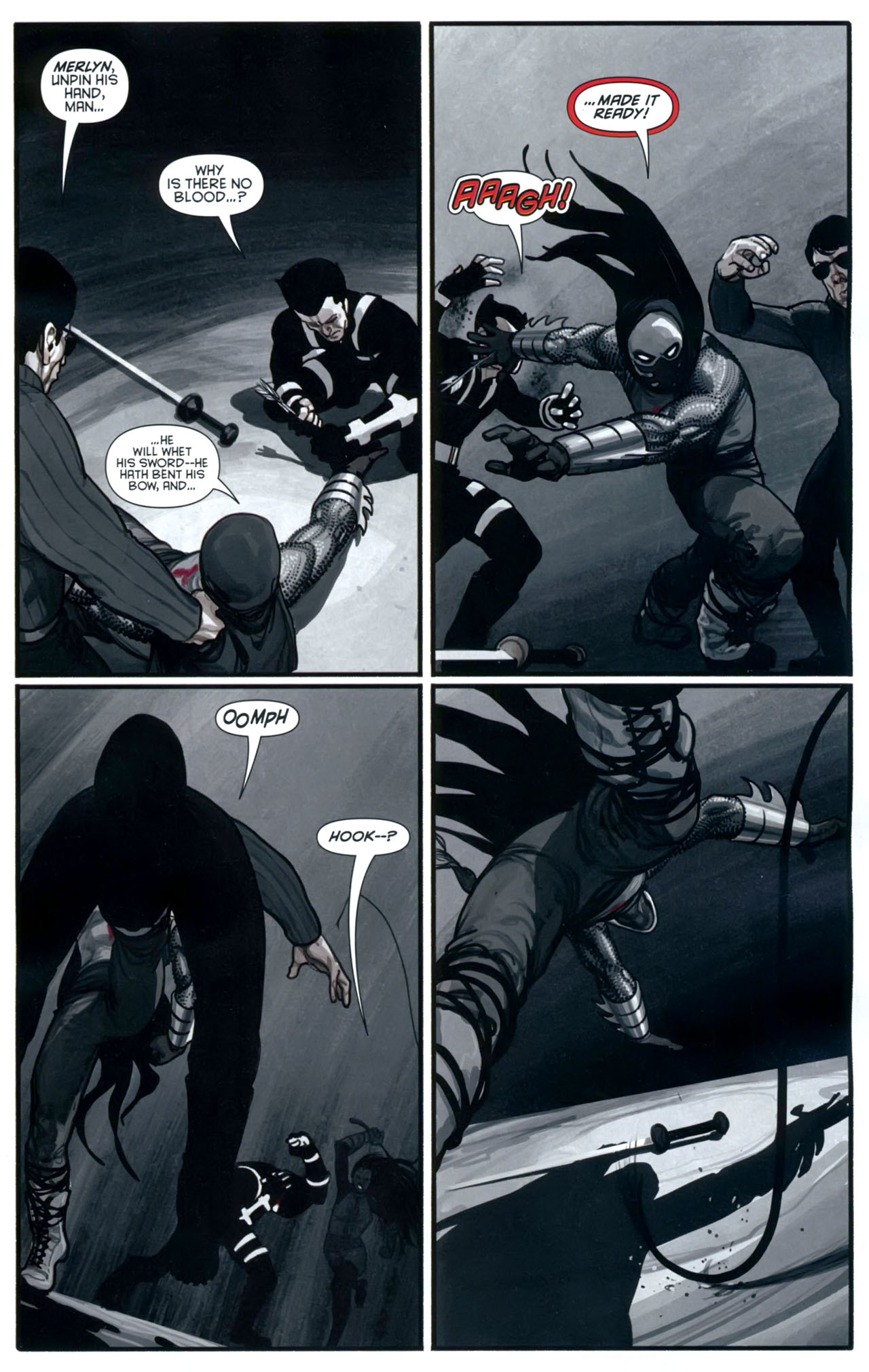 Read online Azrael: Death's Dark Knight comic -  Issue #2 - 8