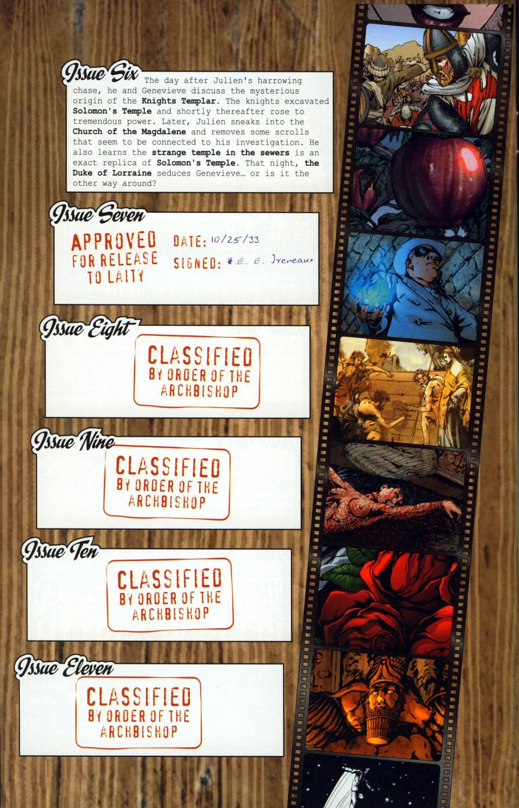 Read online Rex Mundi comic -  Issue #7 - 4