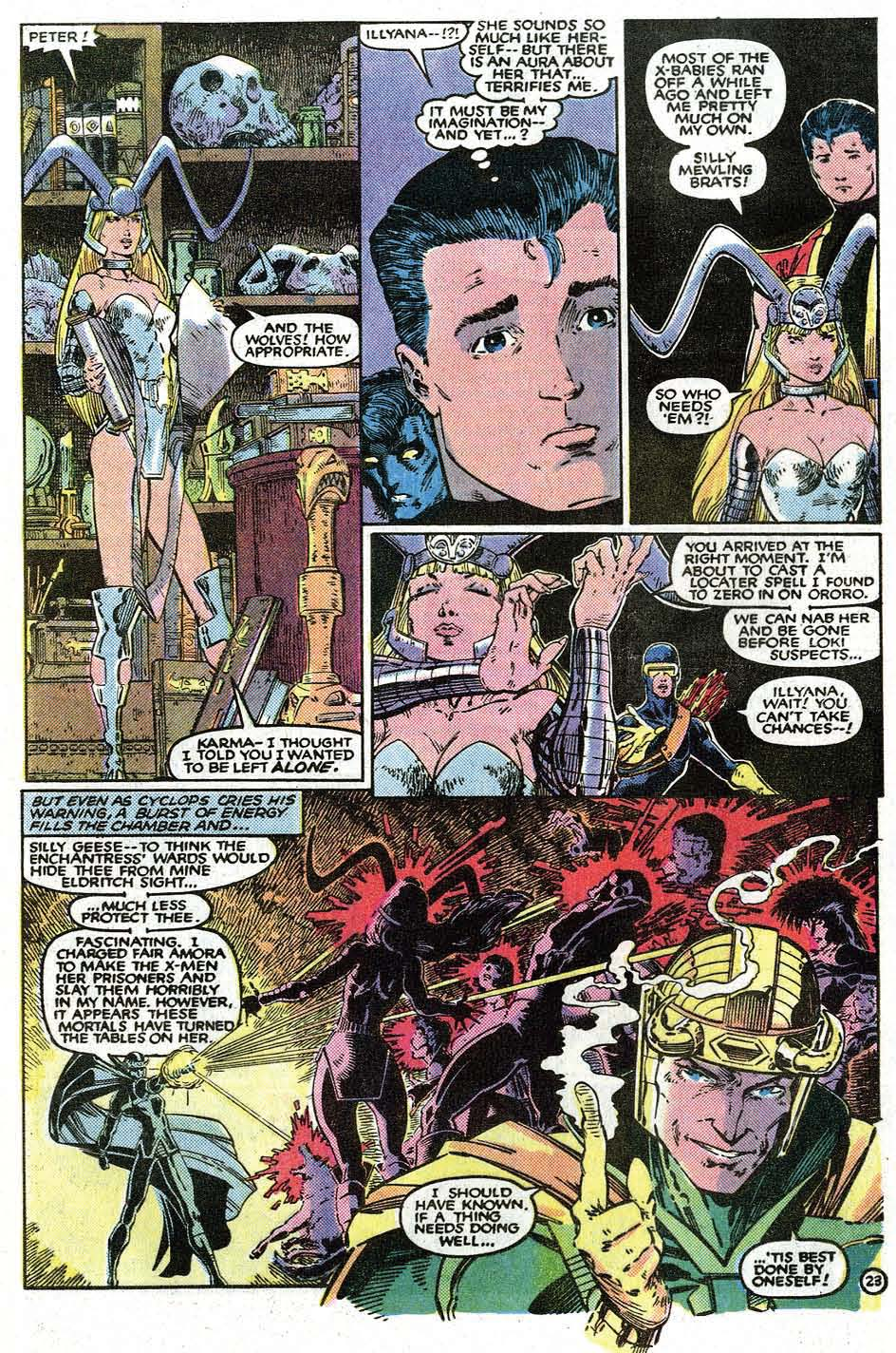 Read online Uncanny X-Men (1963) comic -  Issue # _Annual 9 - 25